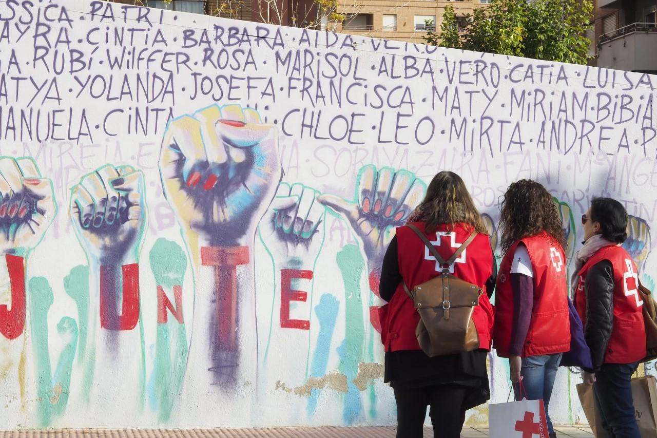 Ayuntamiento de Burriana y Cruz Roja inician el proyecto 'Juntes' de acompañamiento a mujeres víctimas de violencia de género