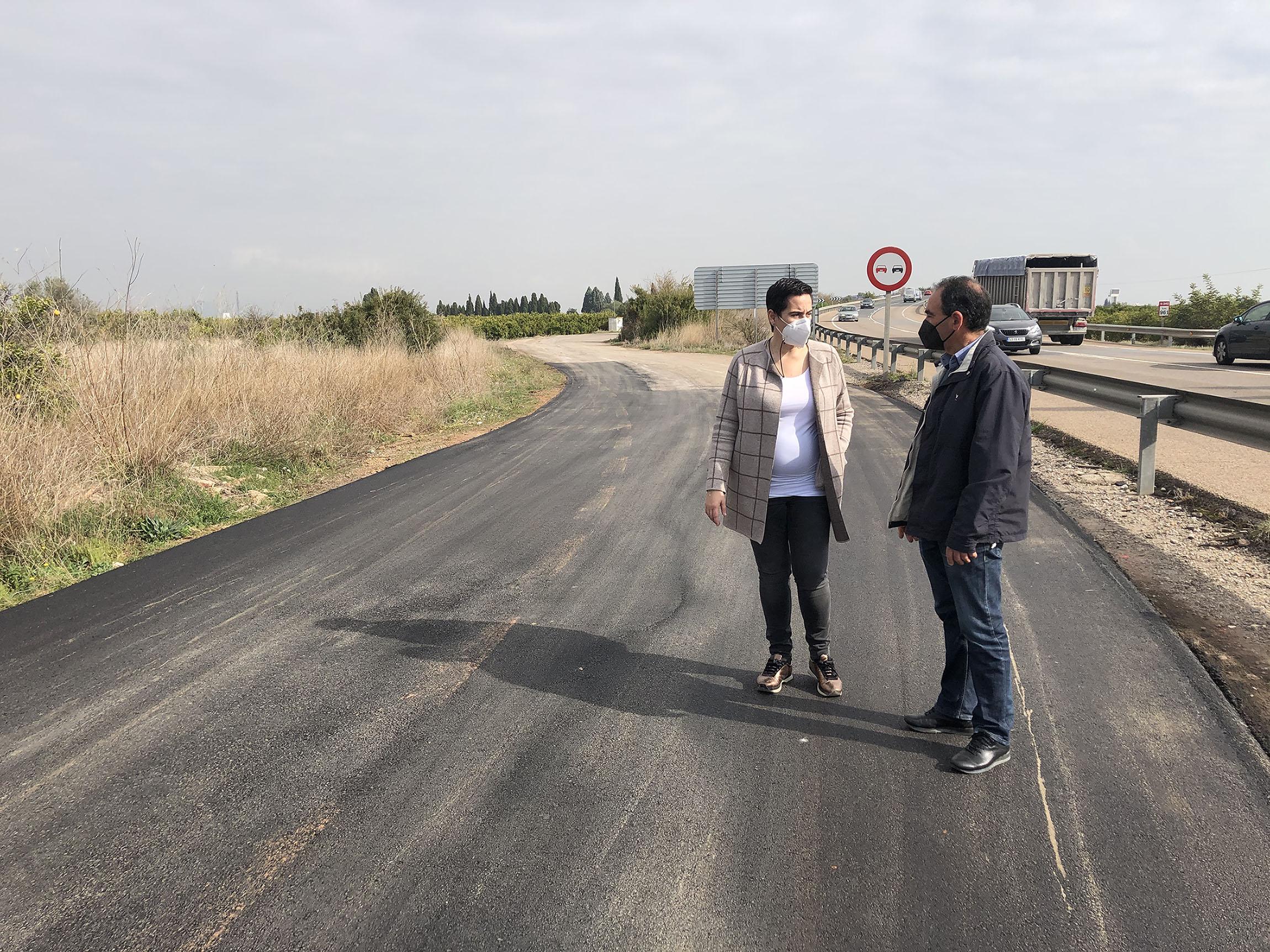 Les Alqueries invierte 25.000 euros en la mejora de varios caminos rurales