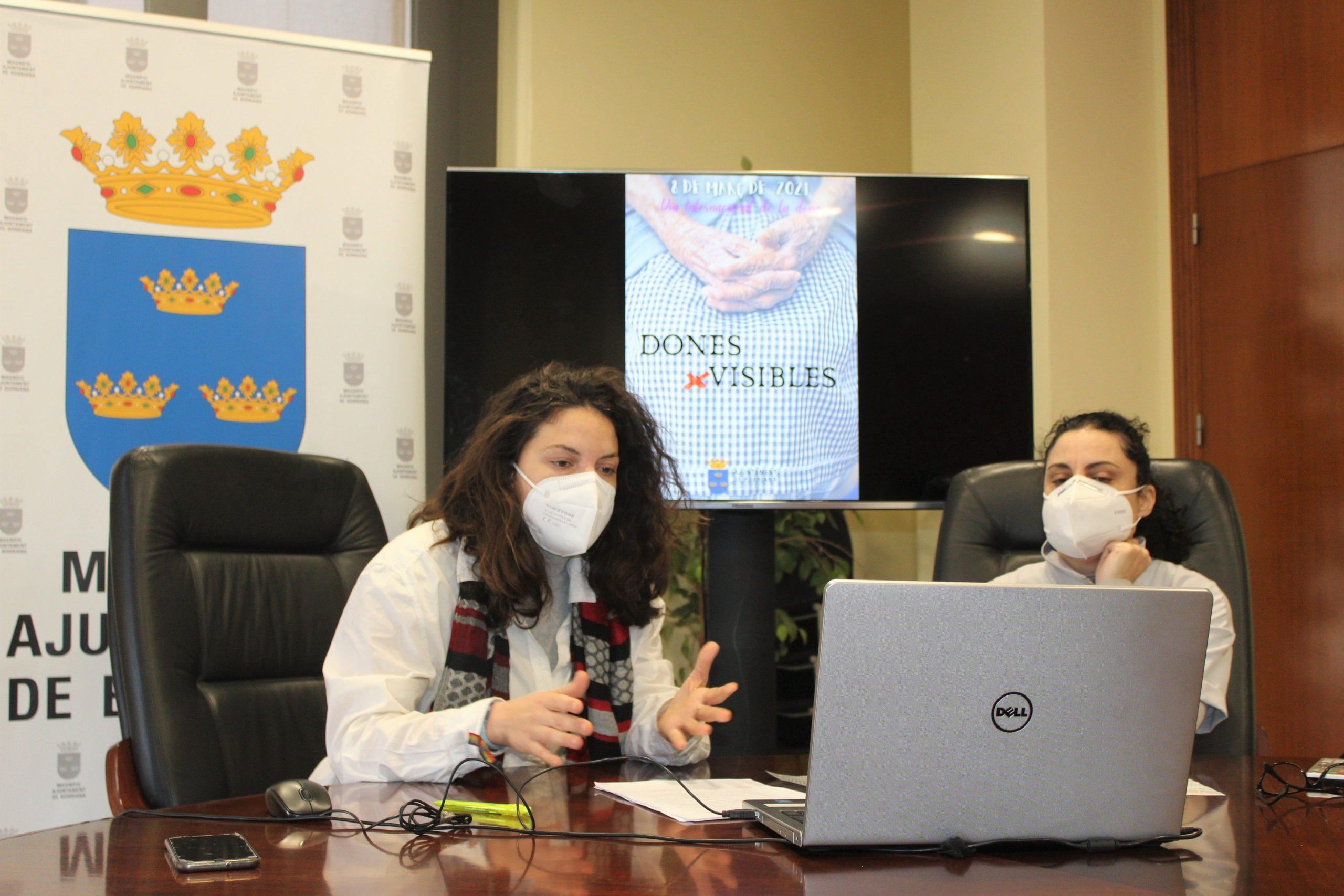 Burriana presenta la programación de este 8M bajo el lema 'Mujeres (In)visibles' para reivindicar el trabajo de cuidados a las personas