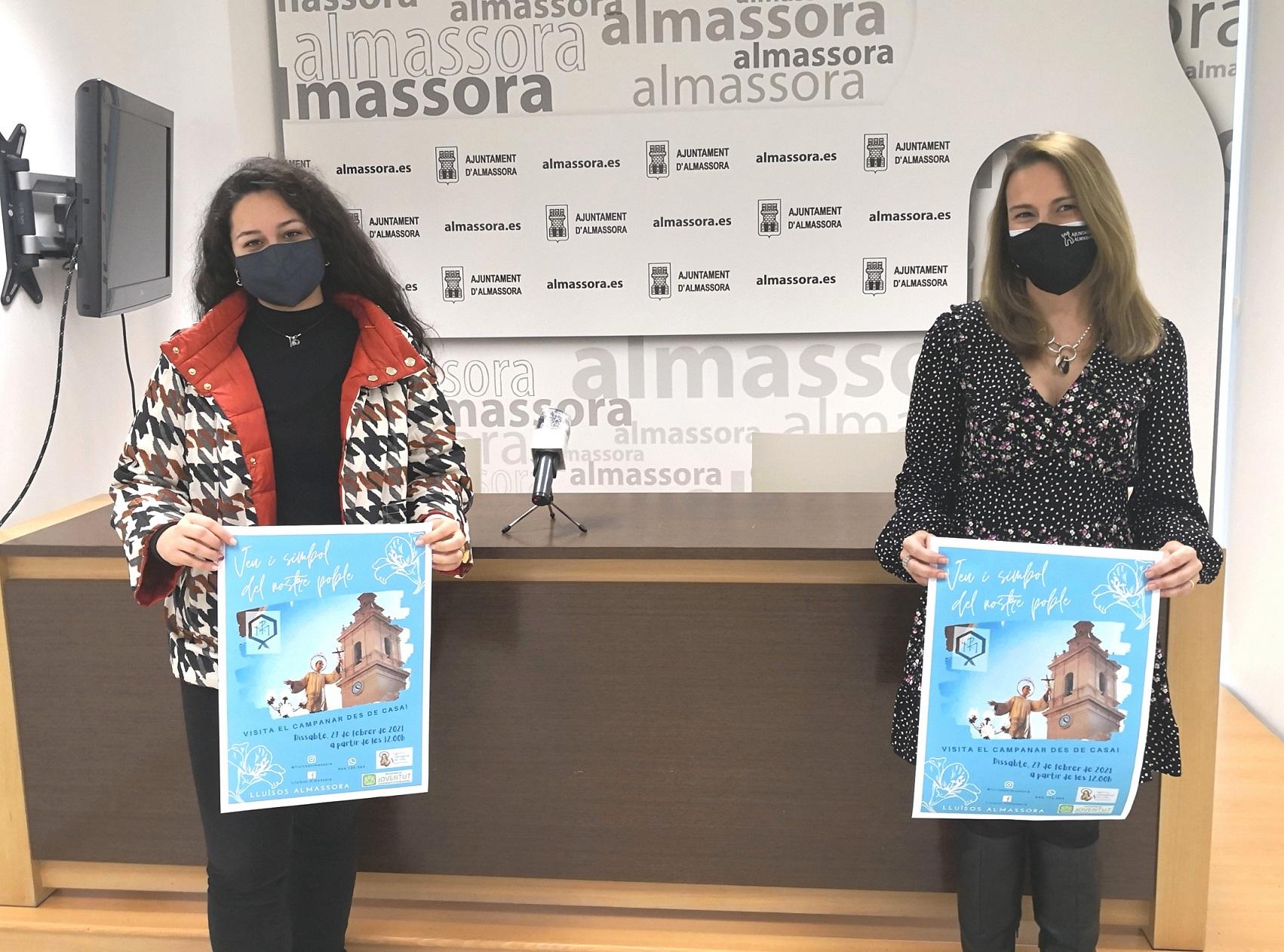 Entrevista a la vicepresidente de Lluïsos Almassora, Helena Martínez