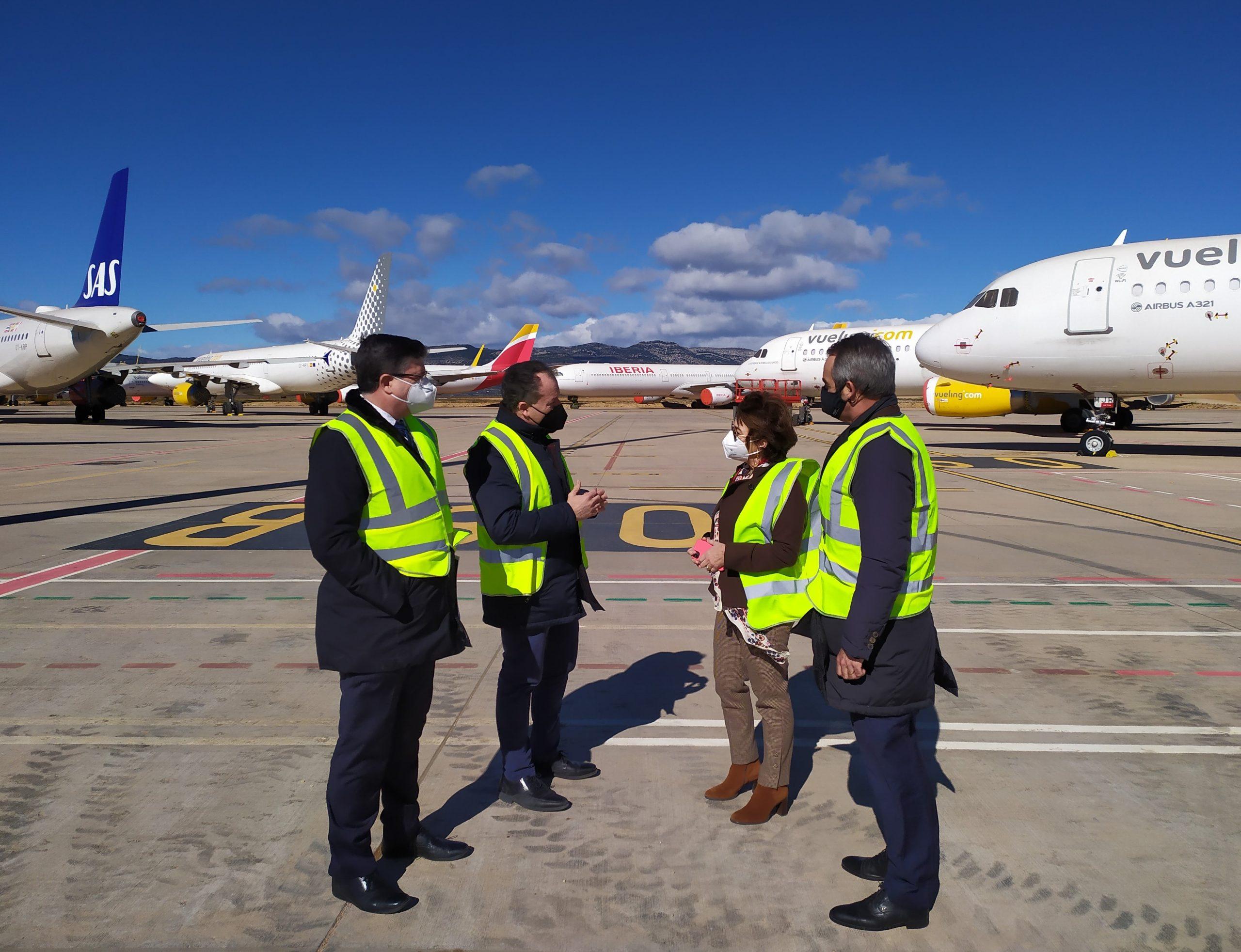 El aeropuerto de Castellón teje alianzas con Redit para fomentar proyectos innovadores vinculados al sector aeronáutico