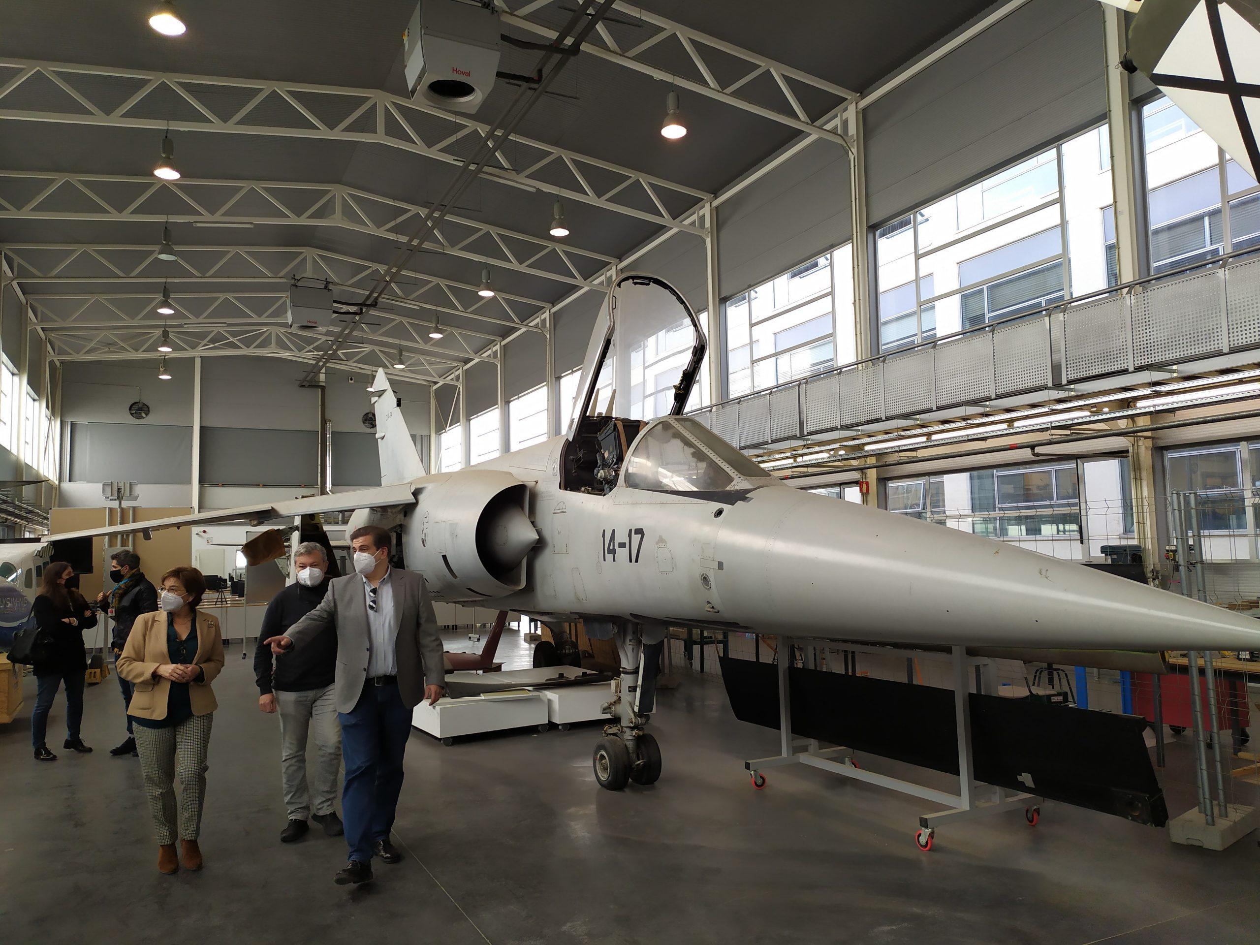 El aeropuerto de Castellón abre vías de colaboración con la UPV para favorecer la innovación en los ámbitos aeronáutico y aeroespacial