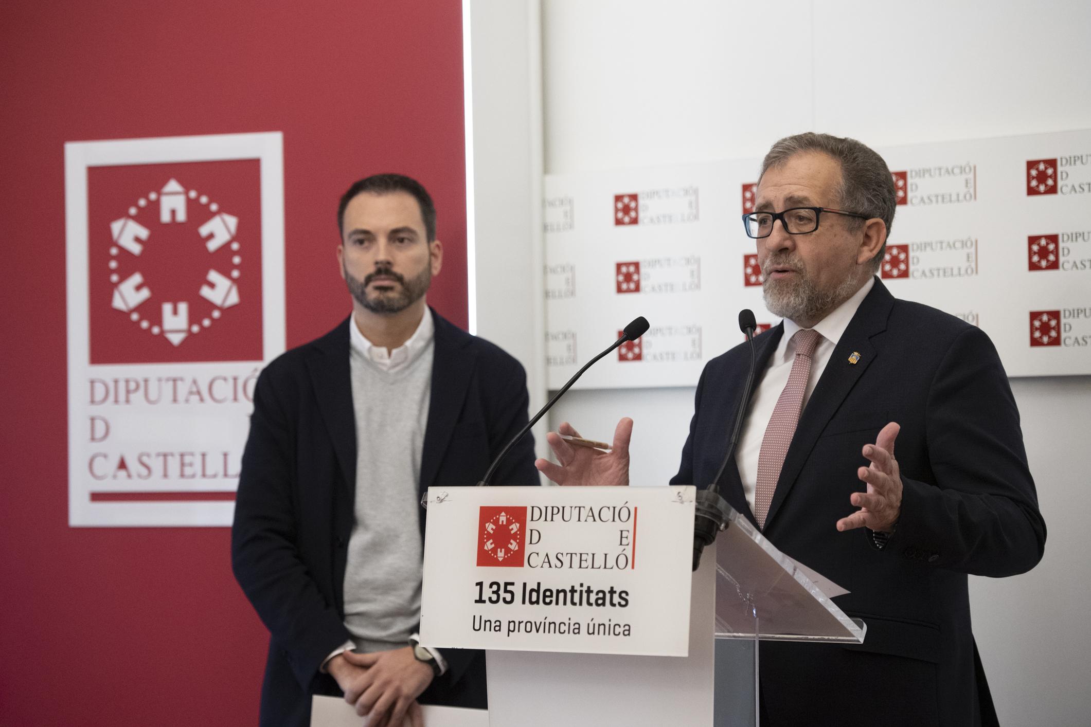 La Diputación activa el CRU 2021 con 400.000 euros para que los municipios renueven espacios degradados con cerámica de Castellón