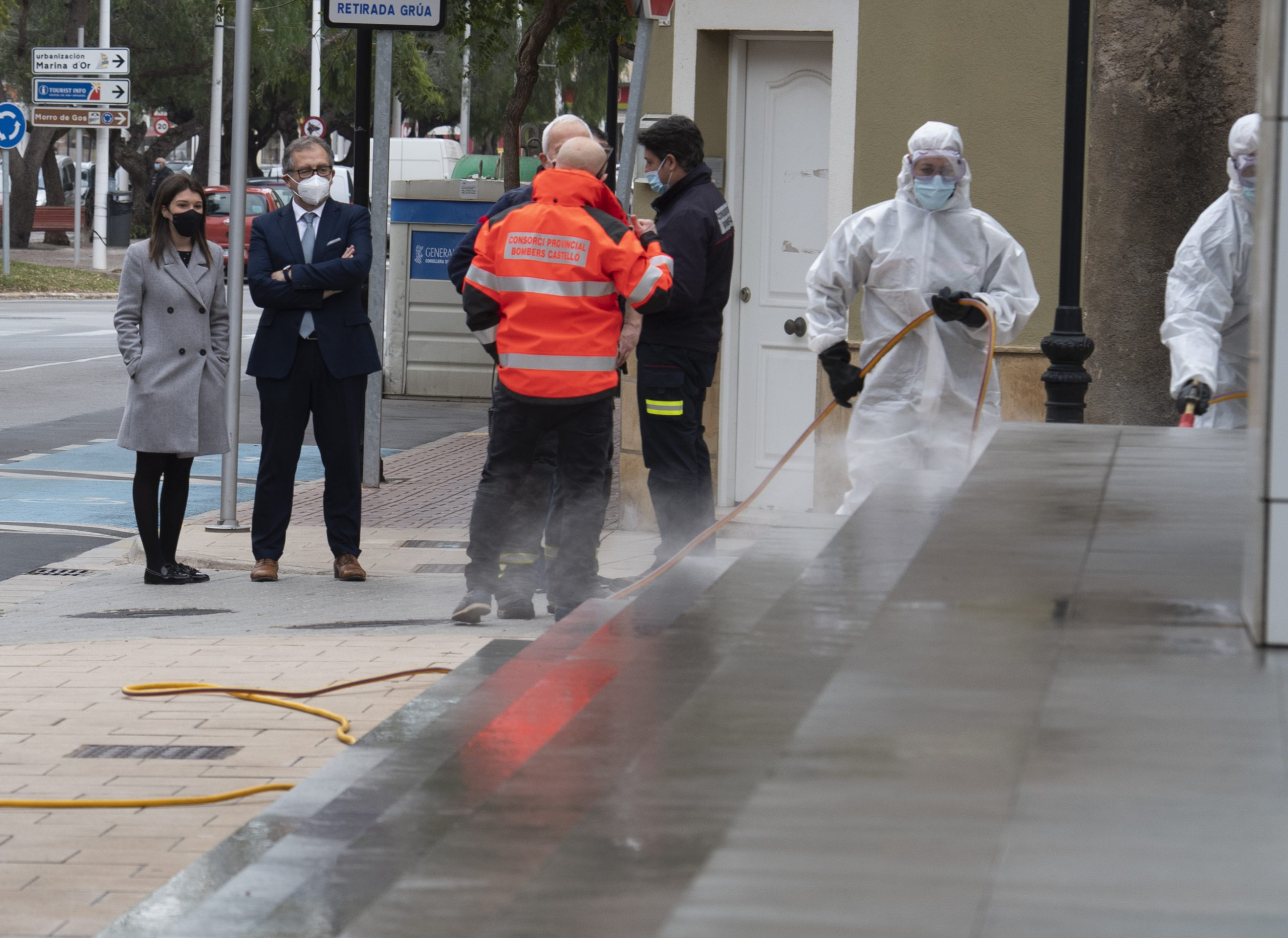 José Martí pone en valor las cerca de 700 acciones de desinfección del Consorcio de Bomberos para ayudar a los municipios a hacer frente a la Covid-19