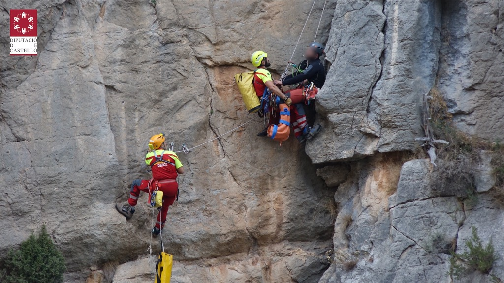 Las unidades de rescate del Consorcio de Bomberos de Castellón efectúan 63 intervenciones en 2020