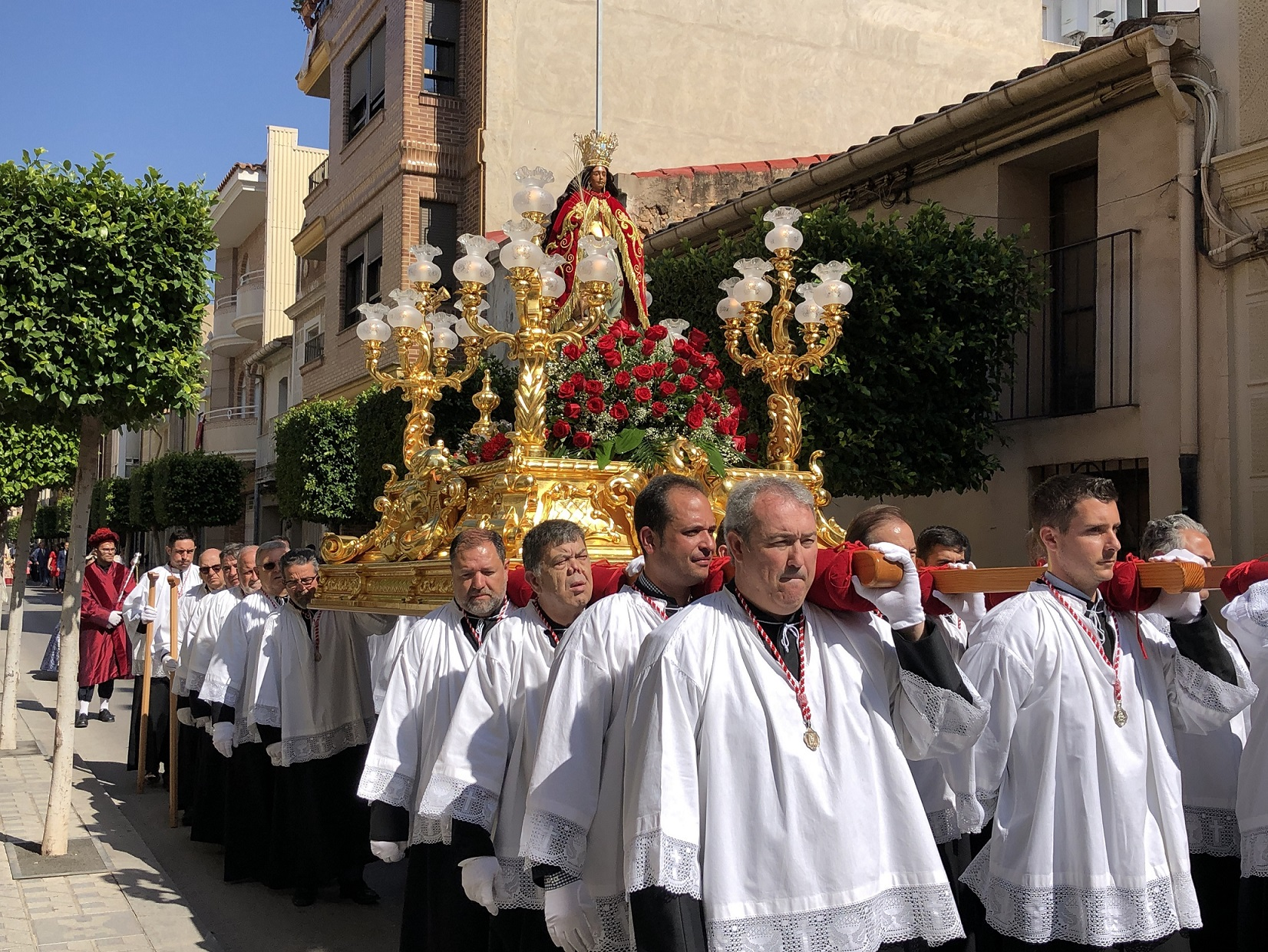 Una ofrenda virtual para honrar a Santa Quitèria en Almassora