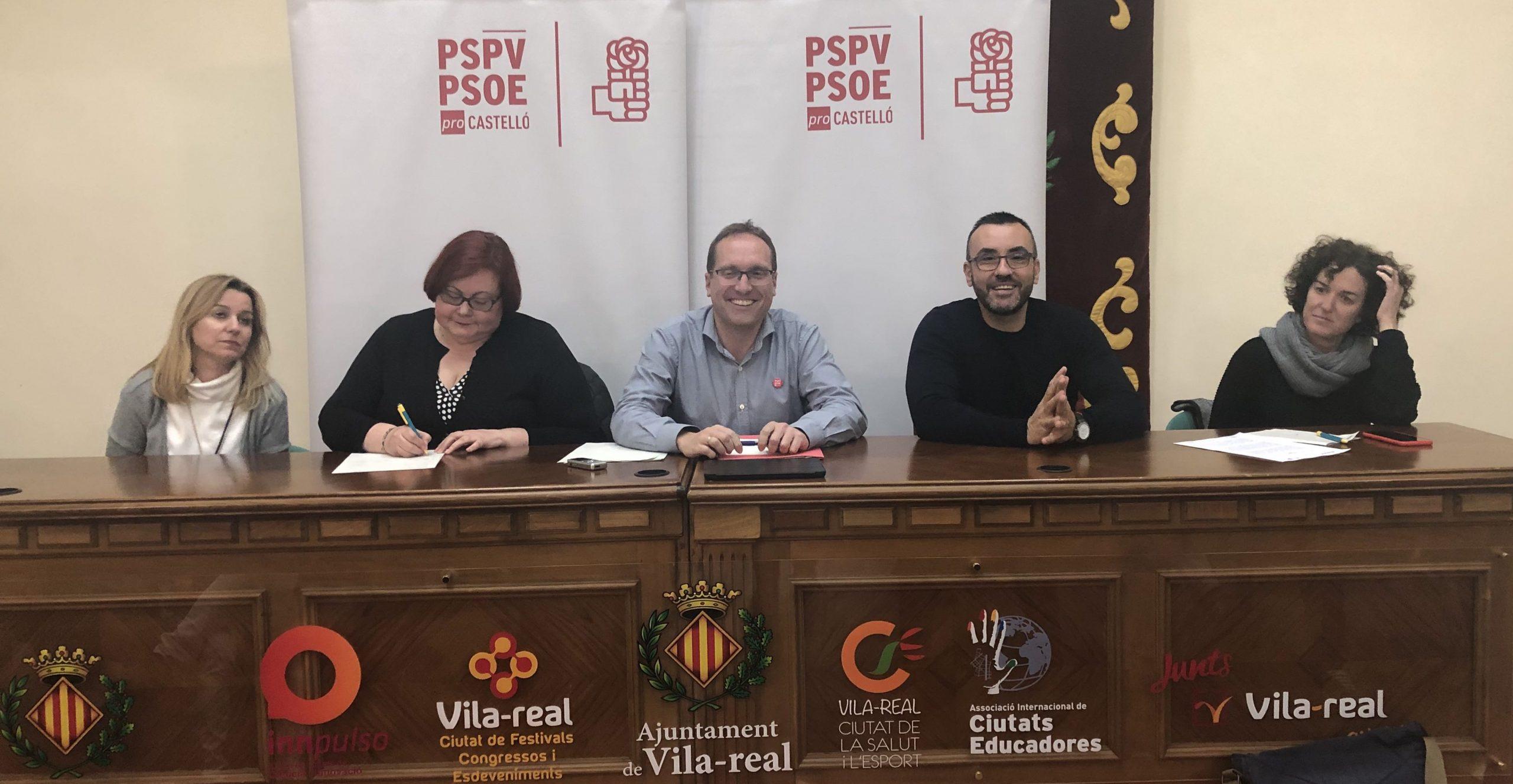 """Blanch (PSPV-PSOE): """"La sentencia del caso PIAF certifica el éxito de la ciudadanía de Vila-real al cambiar un gobierno corrupto del PP por el gobierno socialista de José Benlloch"""""""