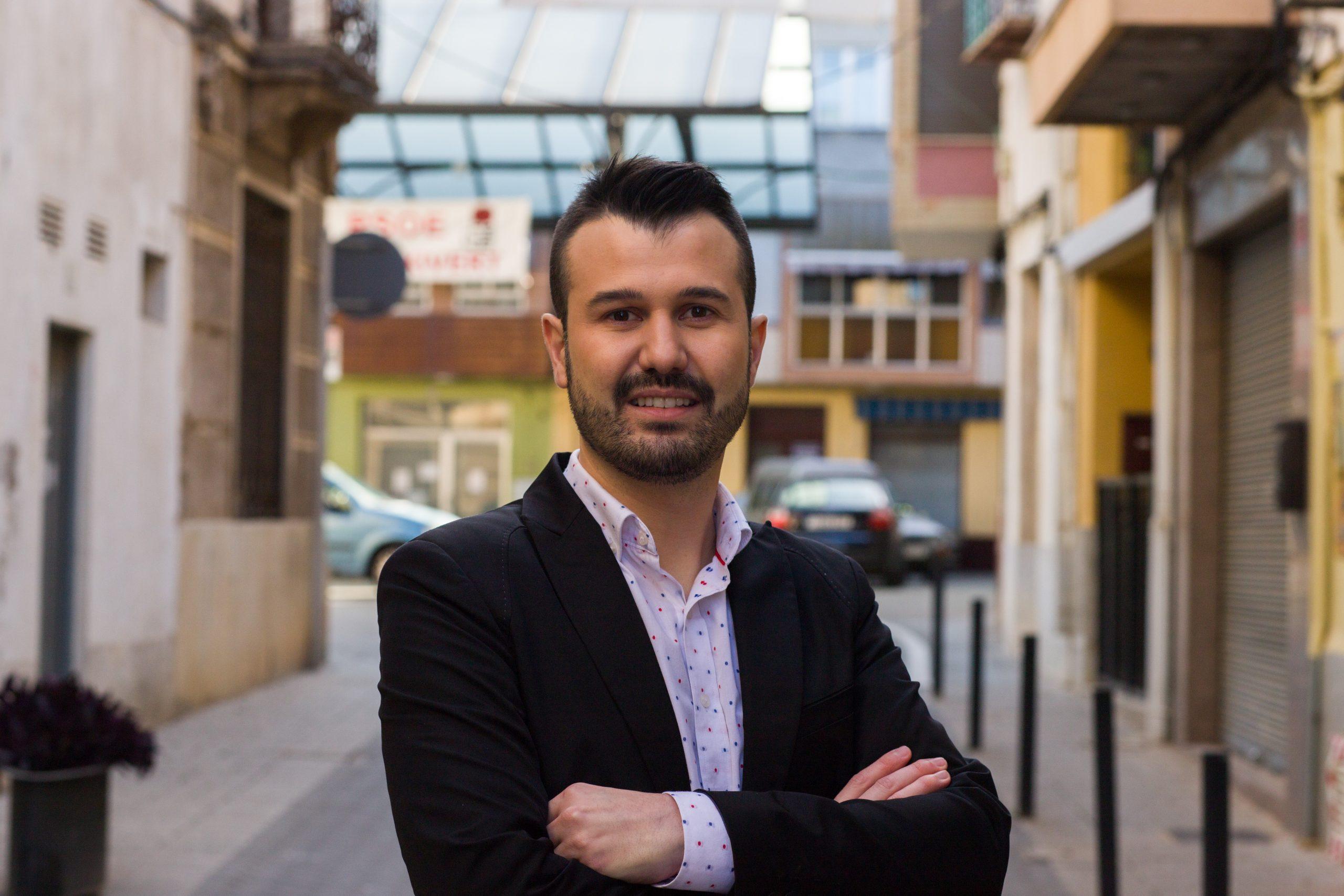 Entrevista al portavoz del PSPV de Alcalà de Xivert-Alcossebre, Joan Ronchera