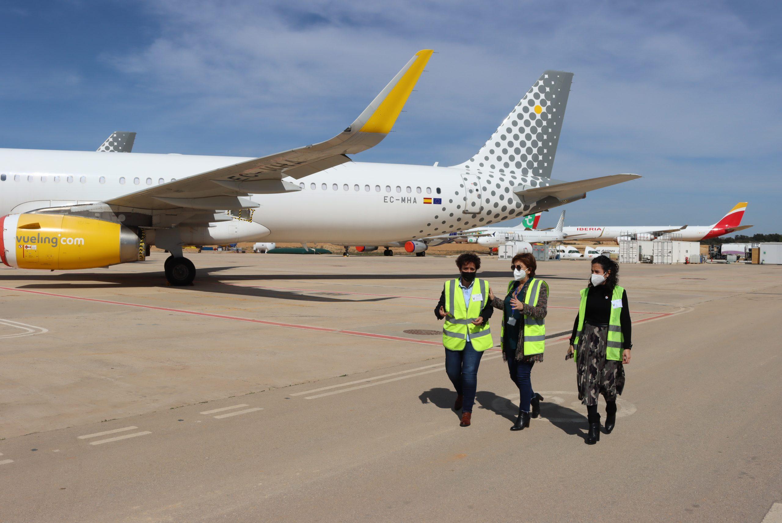 Onda se alía con el Aeropuerto de Castellón para sumar competitividad a las empresas del parque logístico