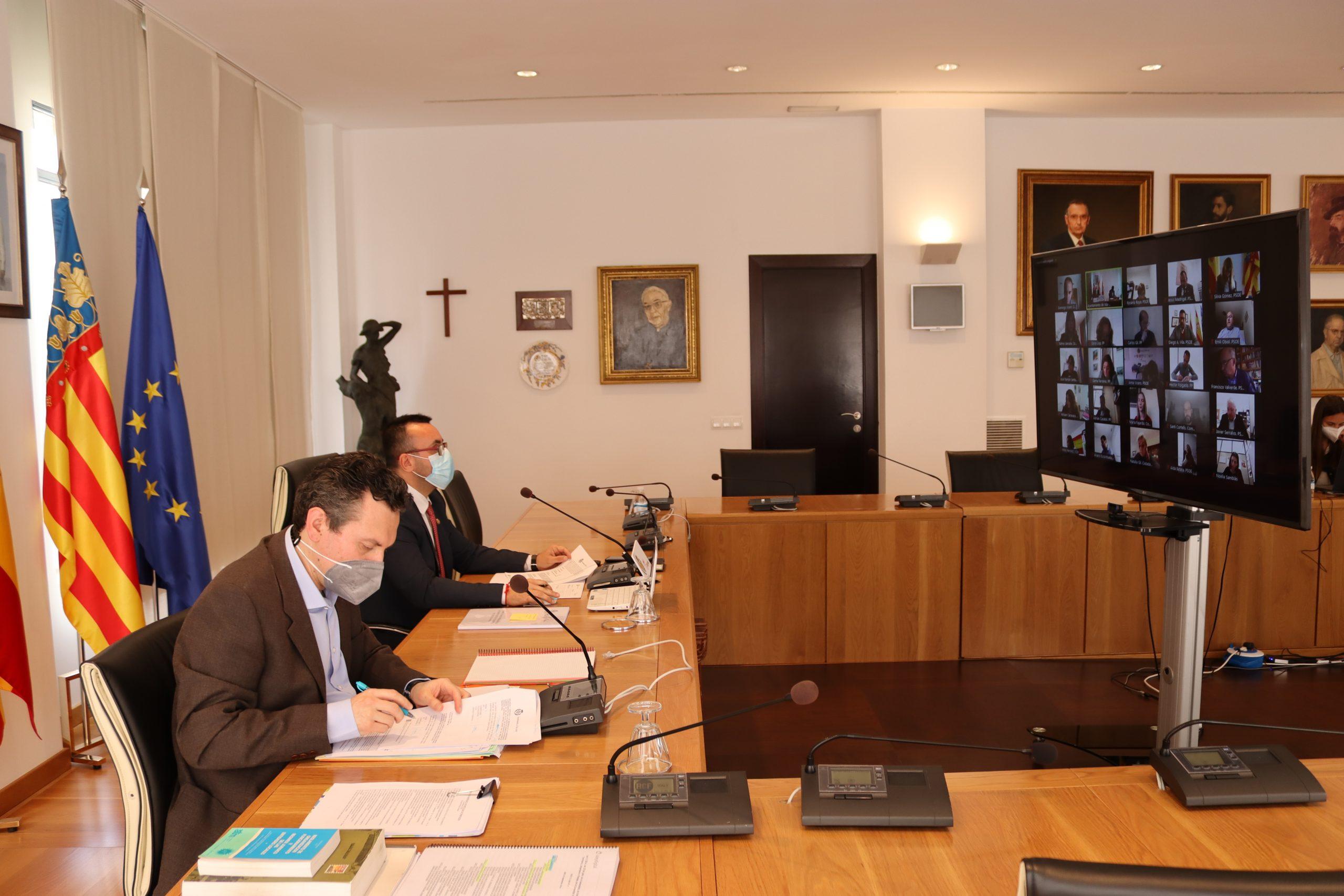 El Pleno de Vila-real aprobará este jueves de manera definitiva el presupuesto de 2021 al desestimar las alegaciones a las cuentas