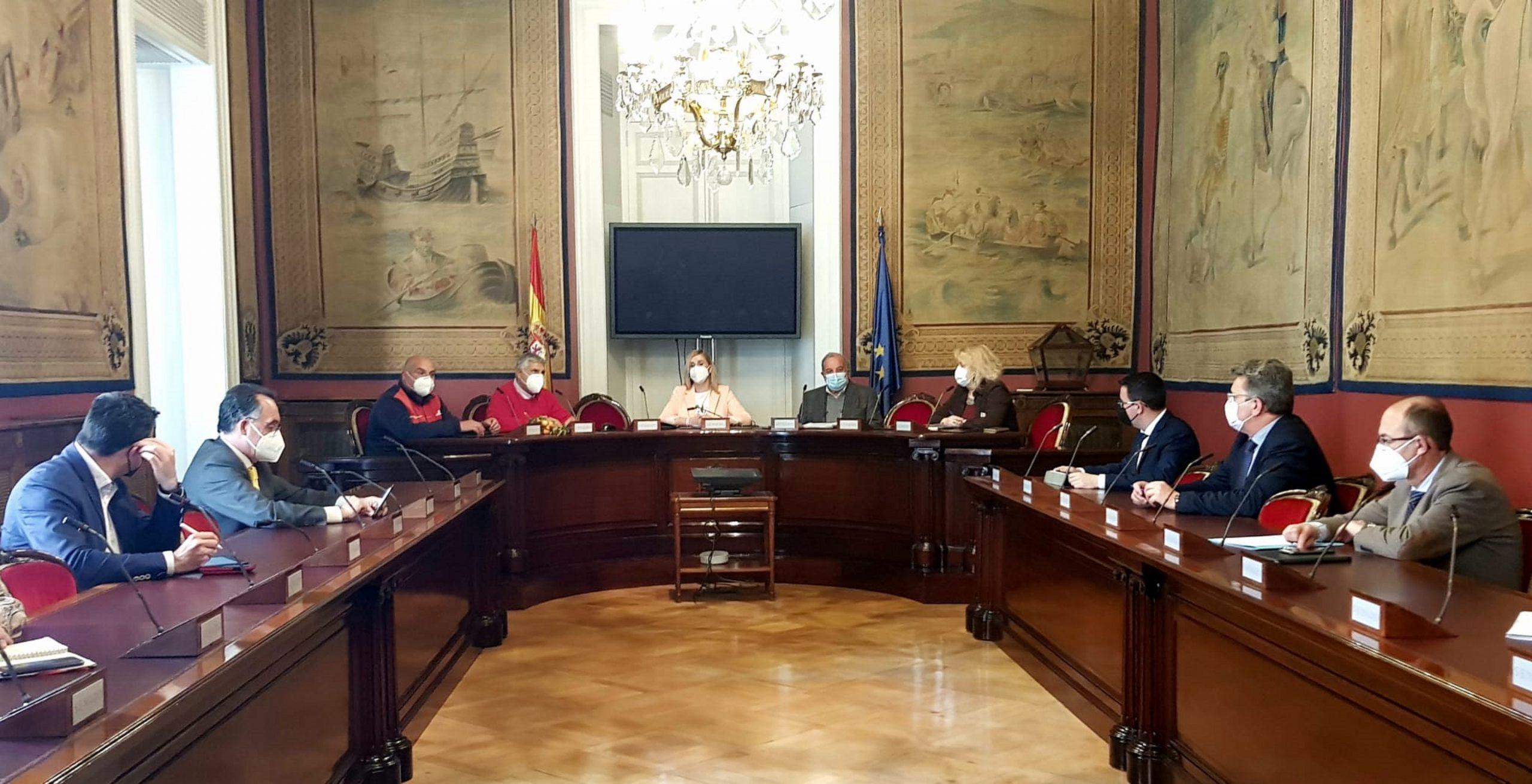 El PP de Vila-real defiende en Madrid la urgencia de autorizar los fitosanitarios para luchar contra la plaga del Cotonet