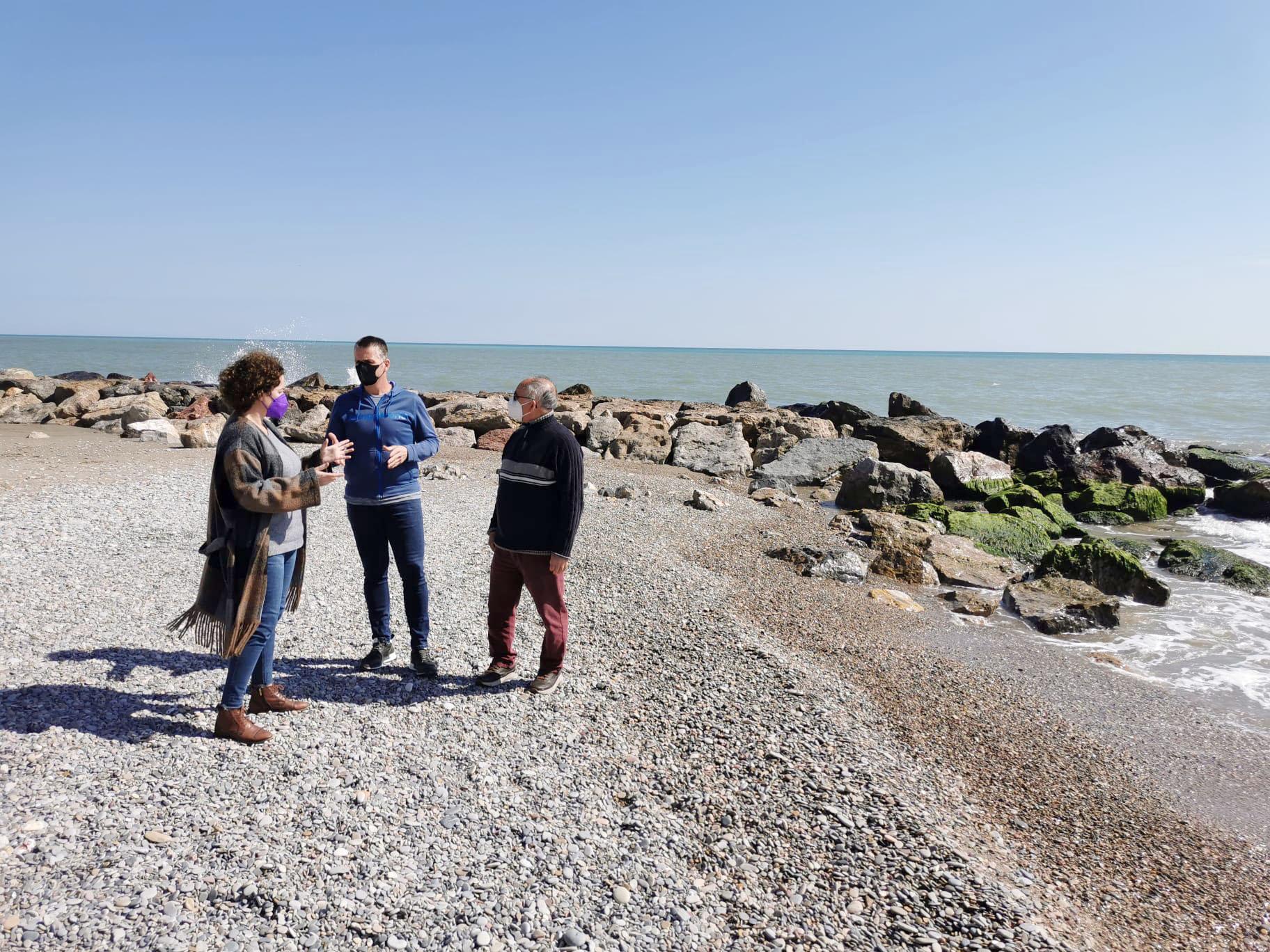El Gobierno de España adjudica las obras de los espigones en el litoral de Almenara