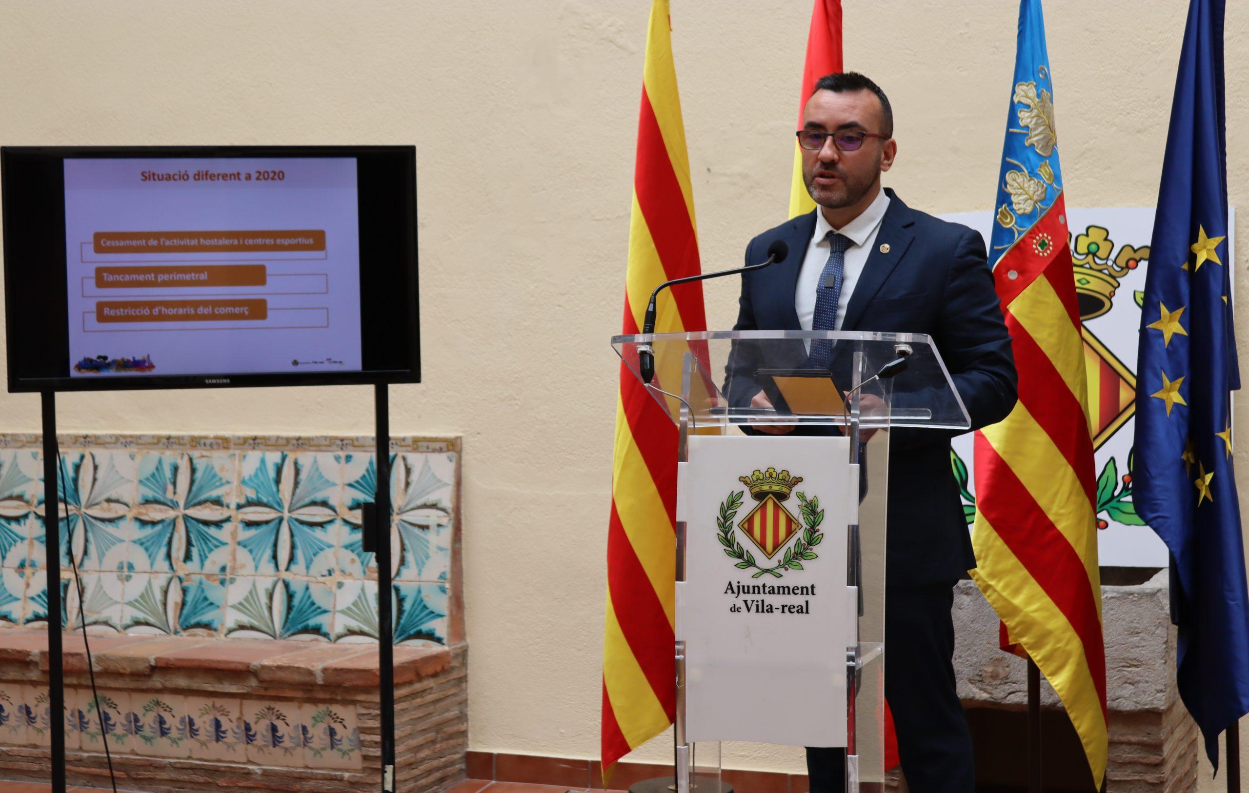 Vila-real lanza una segunda convocatoria del Plan Resistir con  556.000 euros en ayudas directas para 20 actividades económicas