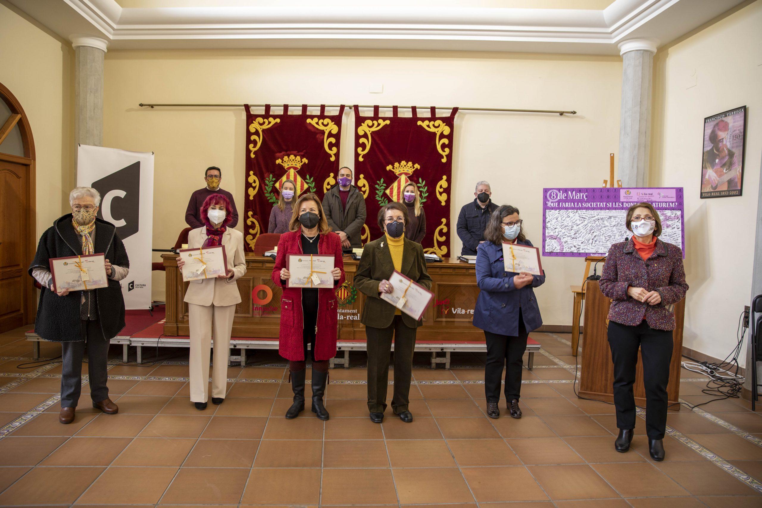 Vila-real celebra el Día Internacional de las Mujeres con el reto de seguir luchando por un futuro igualitario en el mundo de la covid-19
