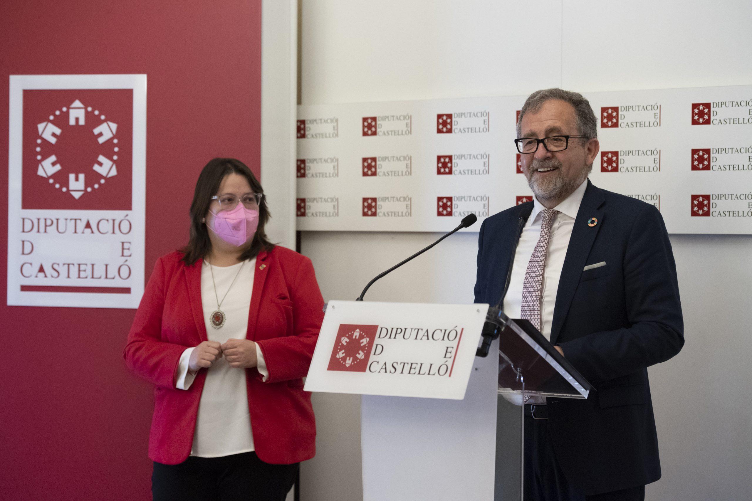 La Diputación entregará el 16 de mayo la Alta Distinción de la Provincia de Castellón al colectivo de los sanitarios
