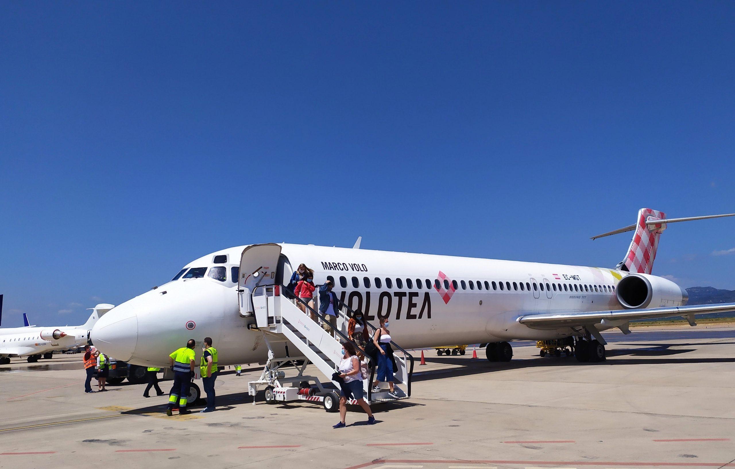 El aeropuerto de Castelló prevé reactivar la ruta a Bilbao el próximo 10 de junio con dos frecuencias semanales
