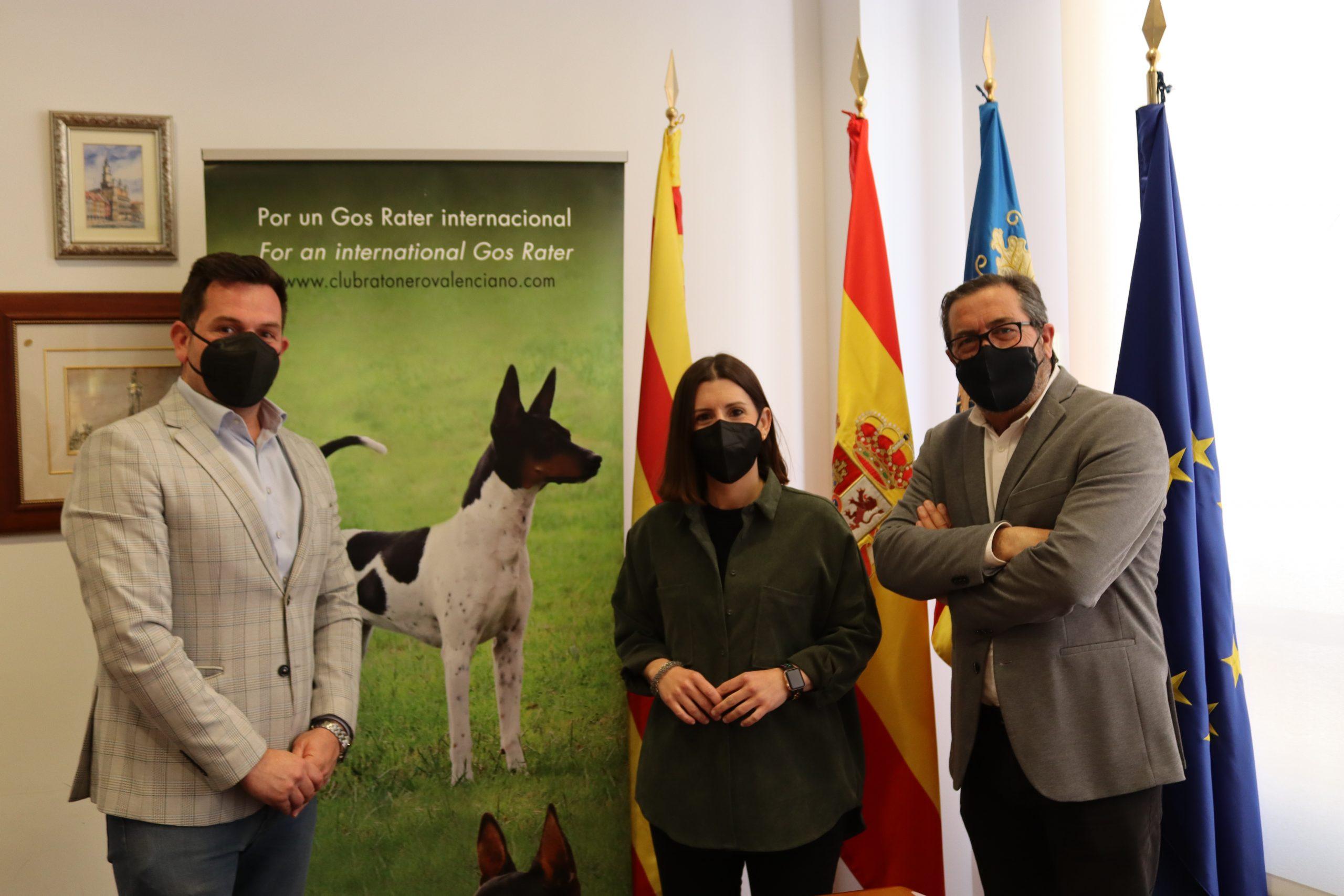 Tradiciones muestra su respaldo al Club del Perro Ratonero Valenciano para el reconocimiento internacional de la raza