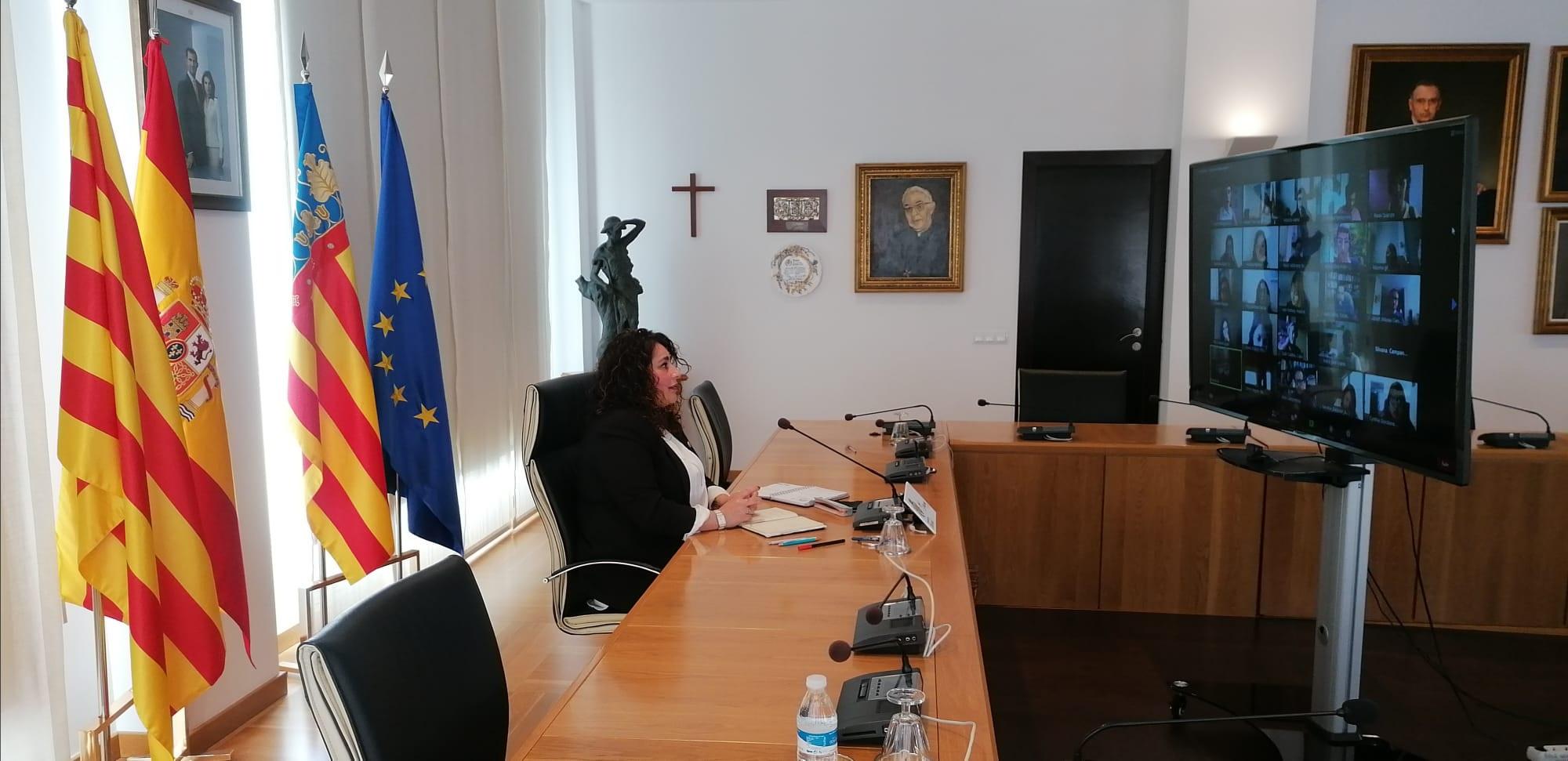 Vila-real profundiza en el uso de recursos telemáticos para promover la participación del Consejo de Niños y Niñas