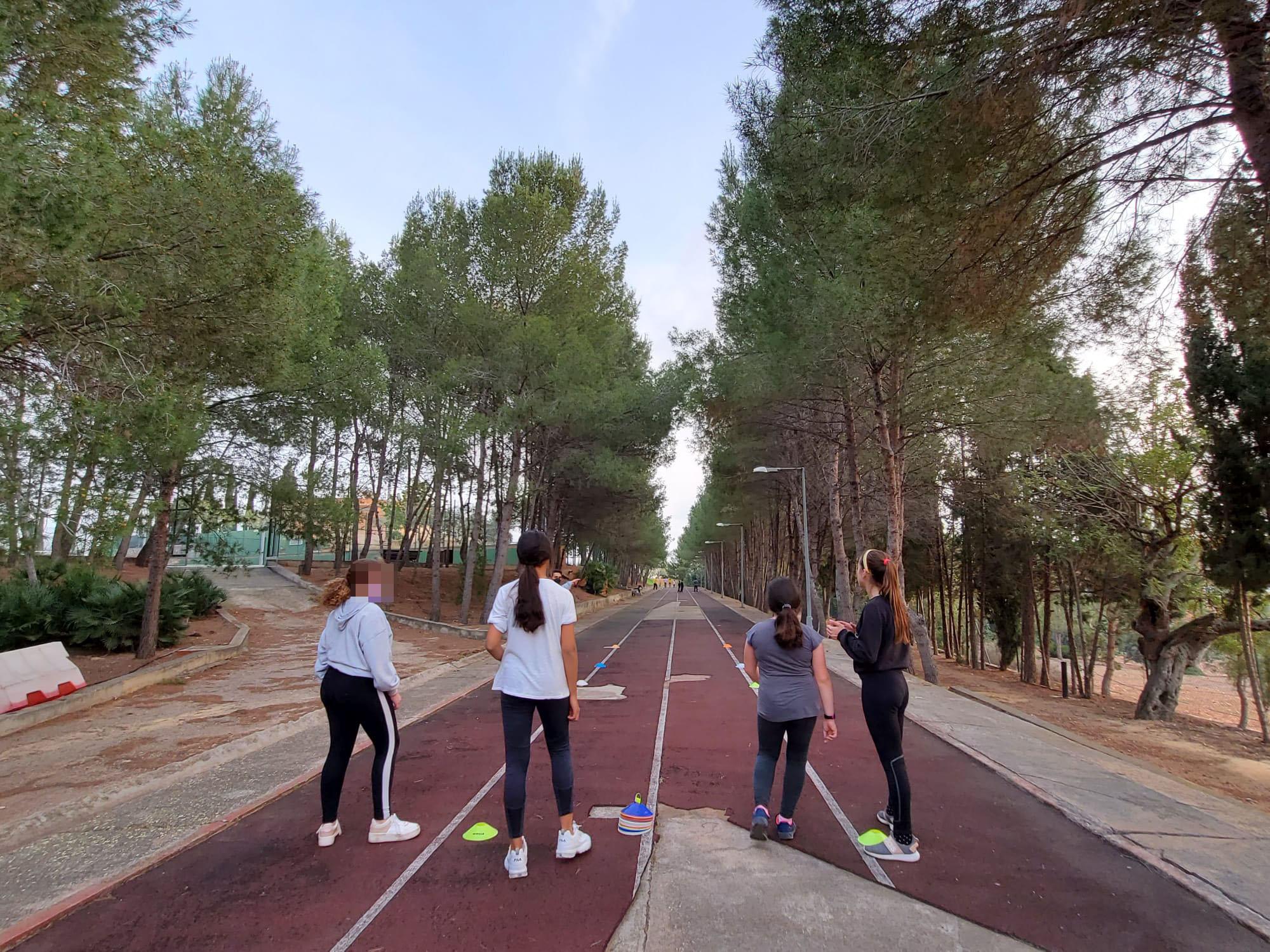 Almenara recupera las actividades deportivas al aire libre