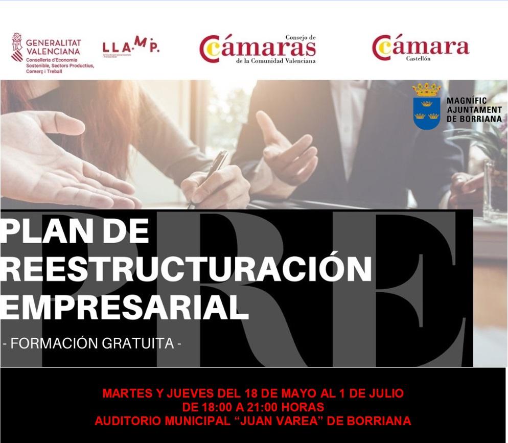 Burriana pone en marcha un plan formativo de Restructuración Empresarial