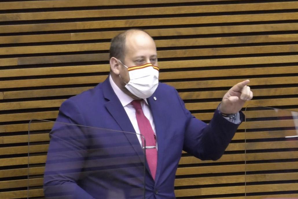 """García (VOX) sobre el silencio de Puig respecto a la brutal agresión a una policía nacional: """"Su feminismo selectivo esconde su machismo más rancio"""""""