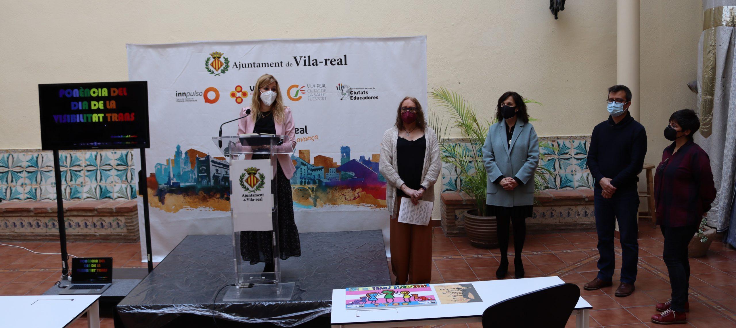 Vila-real se suma al Día de la Visibilidad de las Personas Trans con una guía práctica para asesorar al colectivo y sus familias
