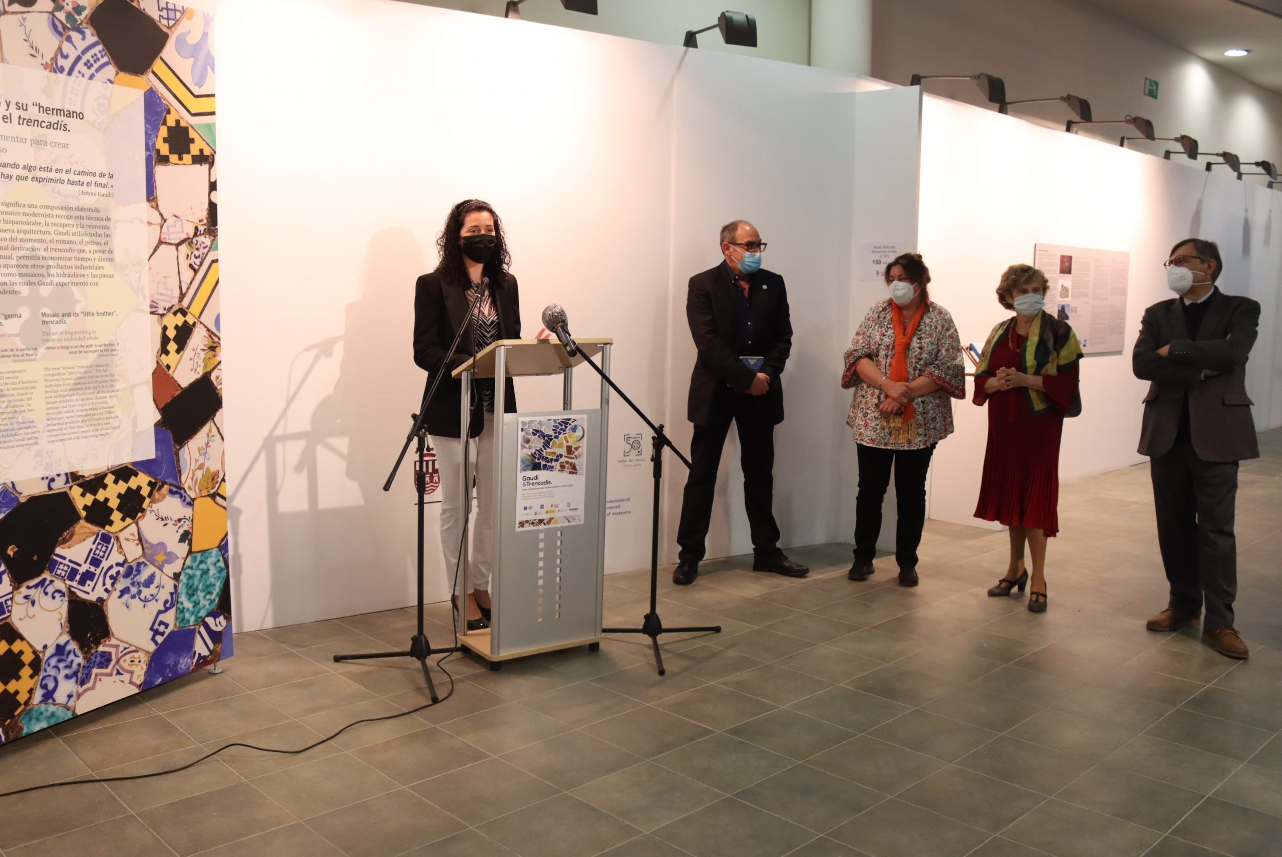 El Museo del Azulejo de Onda inaugura una exposición sobre el trencadís en la obra de Gaudí