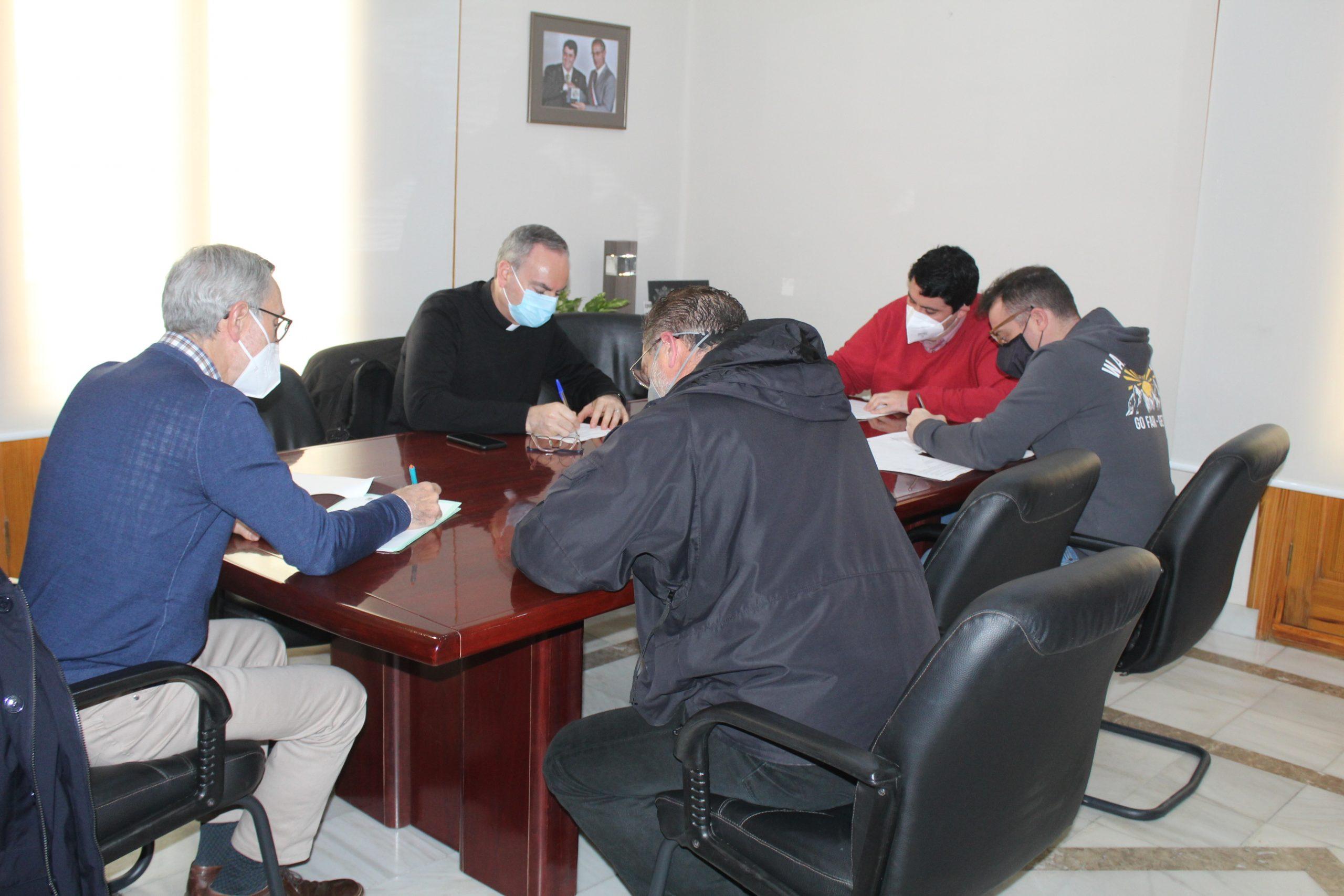 Nules firma un convenio para restaurar el refugio de guerra del convento y darle un uso turístico