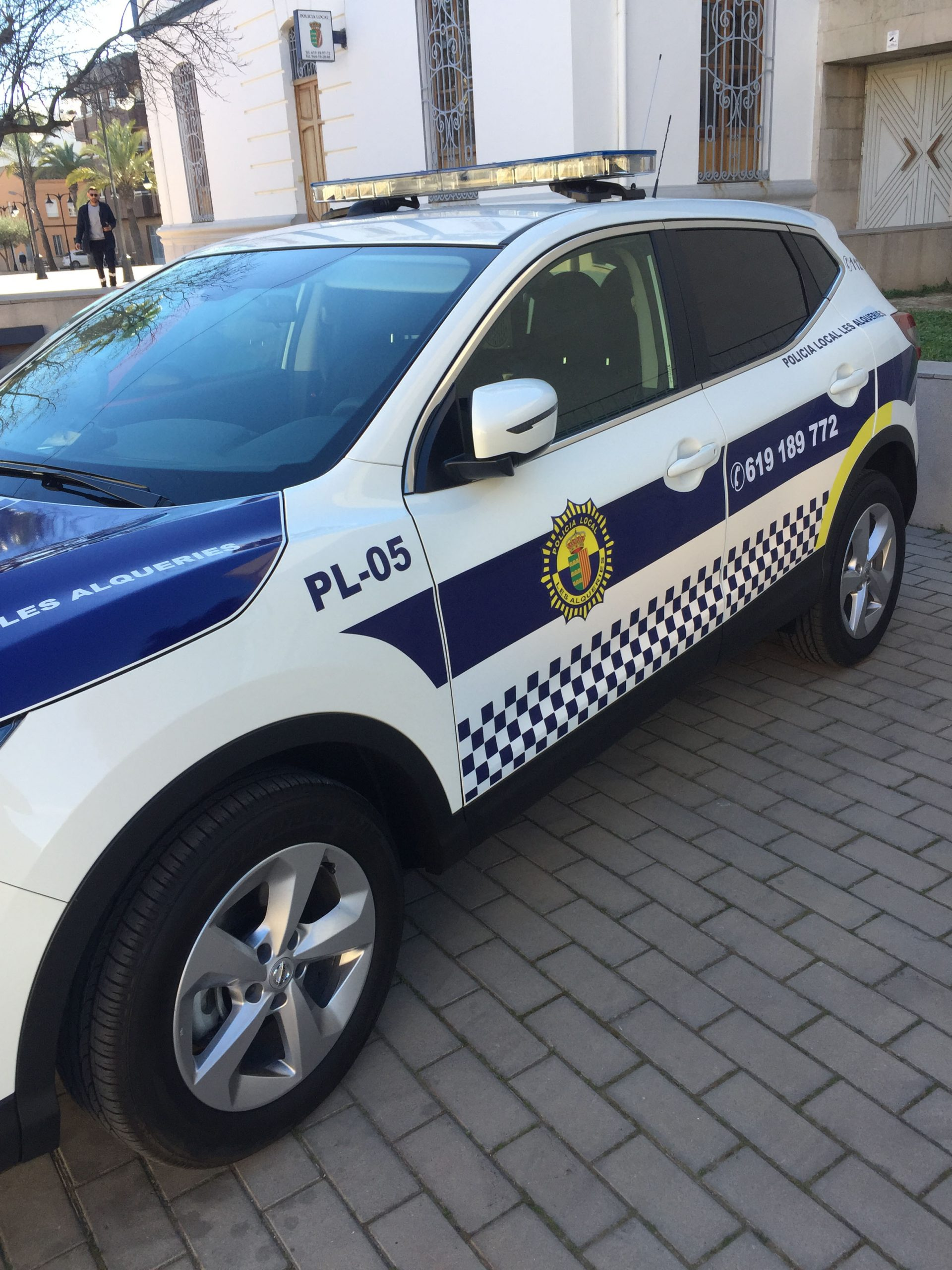 Entrevista al Oficial Jefe de la Policía Local de Les Alqueries, Francisco Borrás