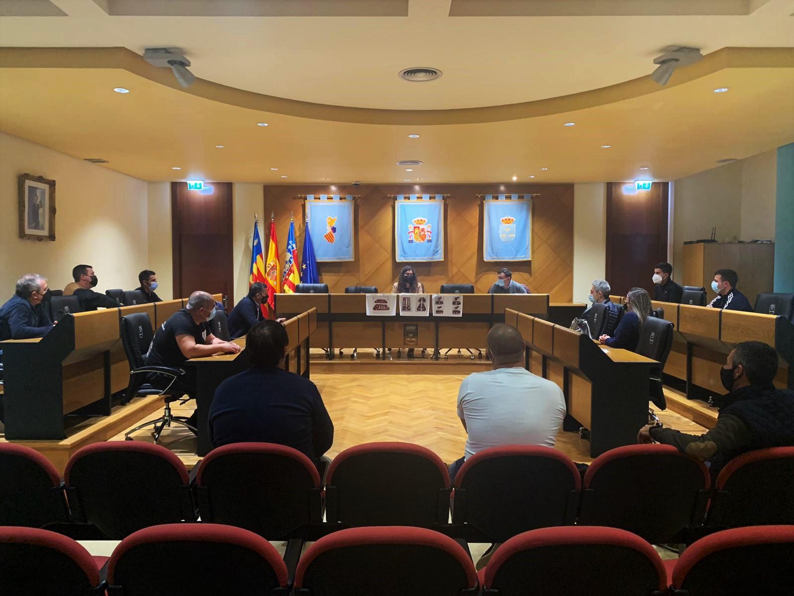Ayuntamiento y colectivos taurinos se reúnen para que el toro vuelva a Burriana en la Misericòrdia