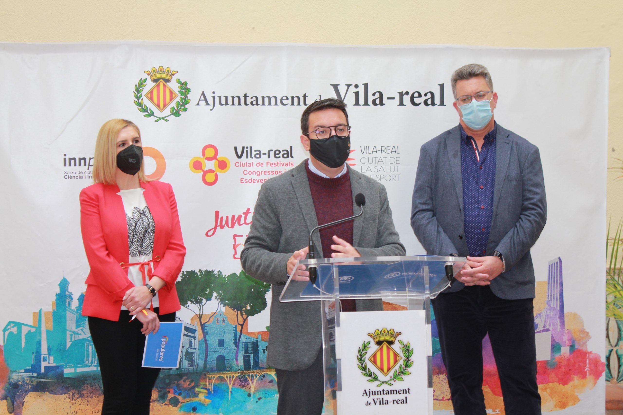 El PP de Vila-real fuerza al ministro a dar explicaciones en el Senado por la inacción del Gobierno frente a la plaga del cotonet