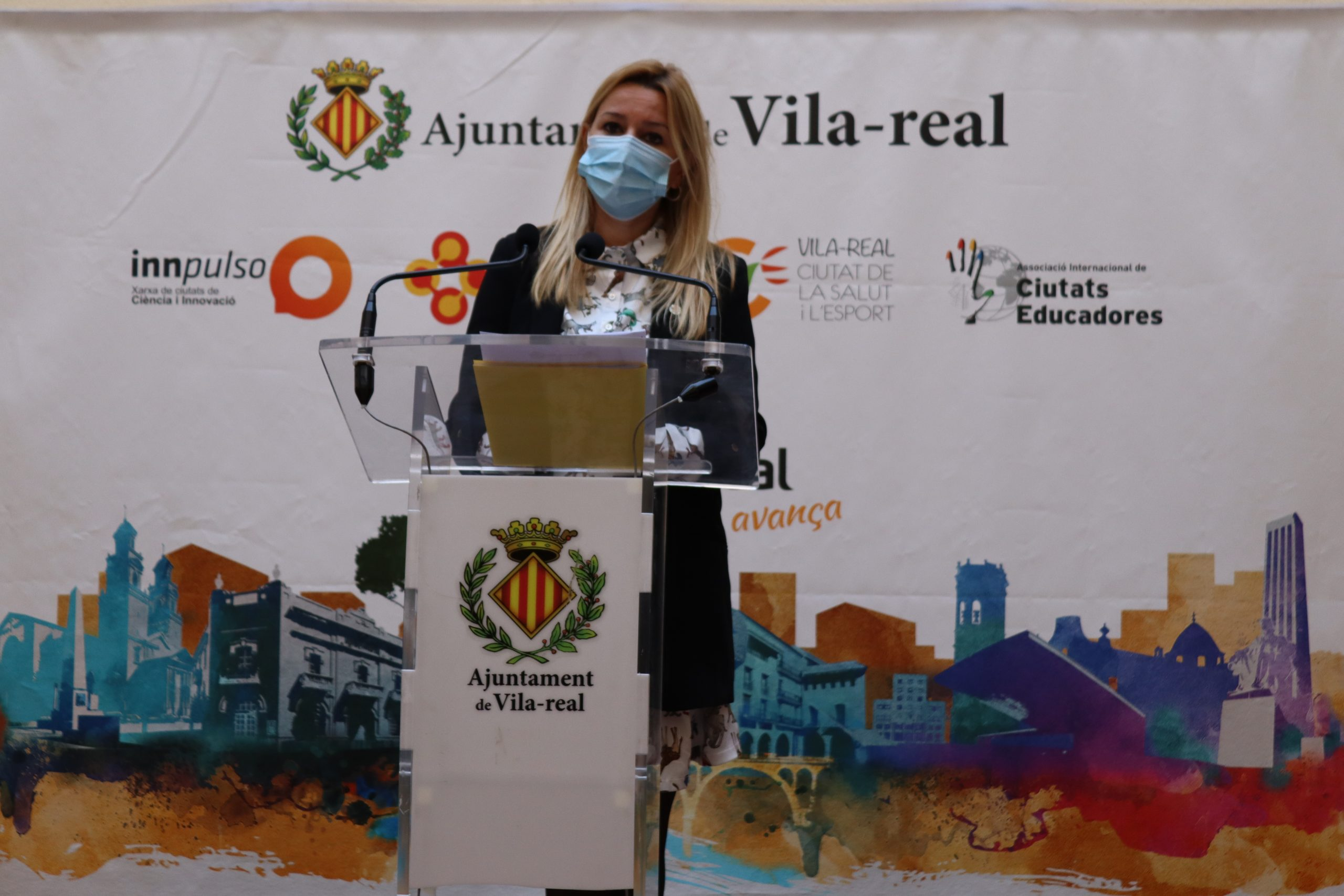Entrevista a la concejala de Seguridad Ciudadana y Salud de Vila-real, Silvia Gómez