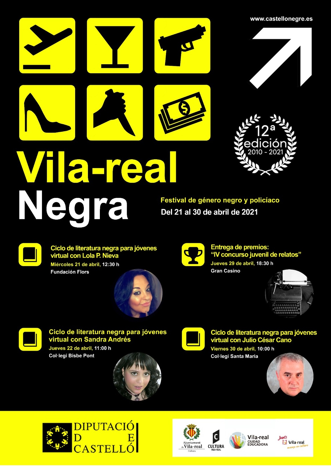 Entrevista a la gestora del festival 'Vila-real Negra', Inma Pitarch