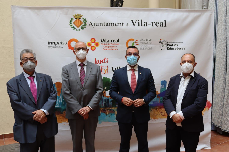 Vila-real une a la Cátedra de Innovación Cerámica, la Fundació Caixa Rural, la ATC y empresas para promover la formación hacia un modelo de economía circular