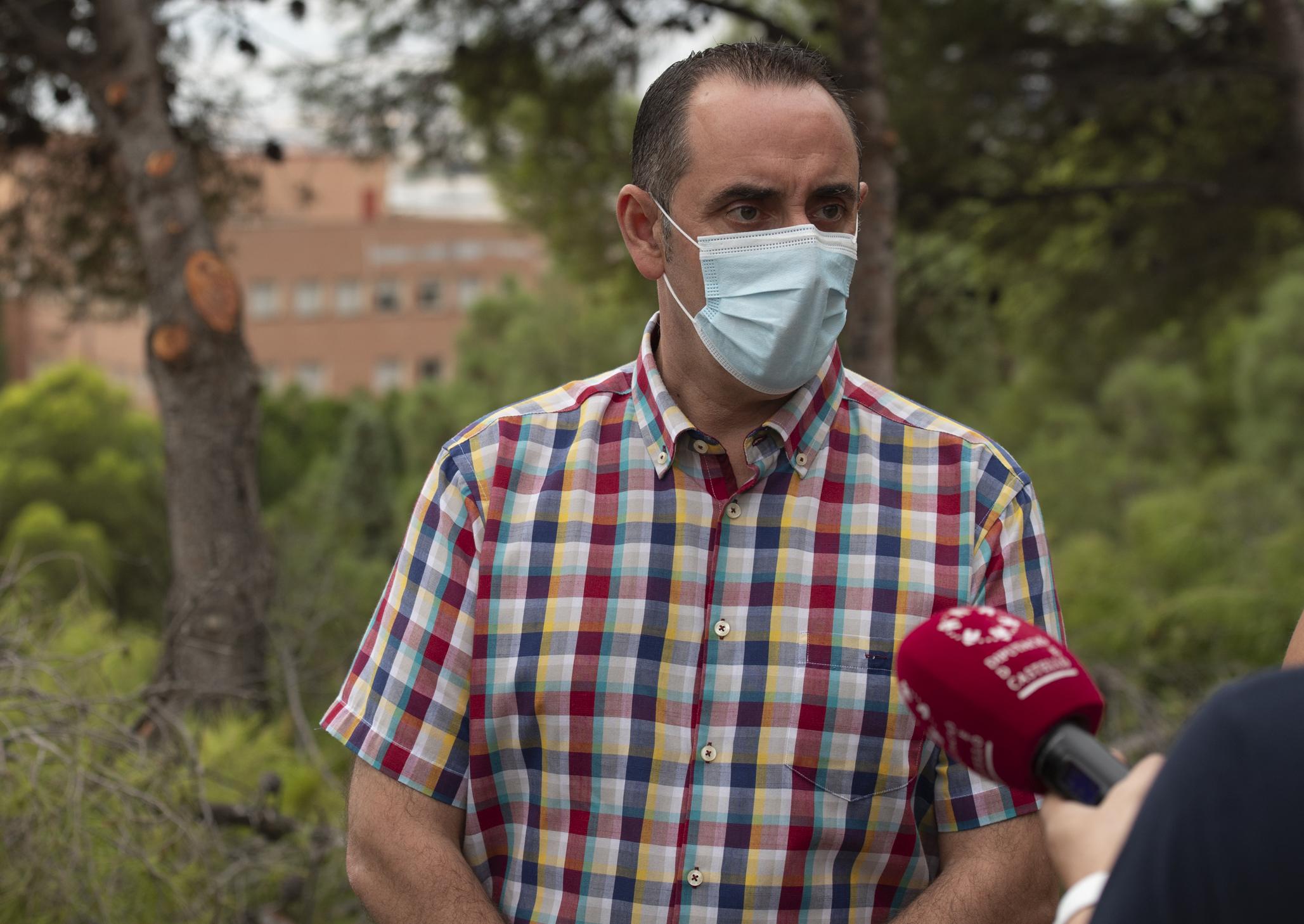 Entrevista al diputado provincial del Consorcio de Bomberos de Castellón, Abel Ibáñez