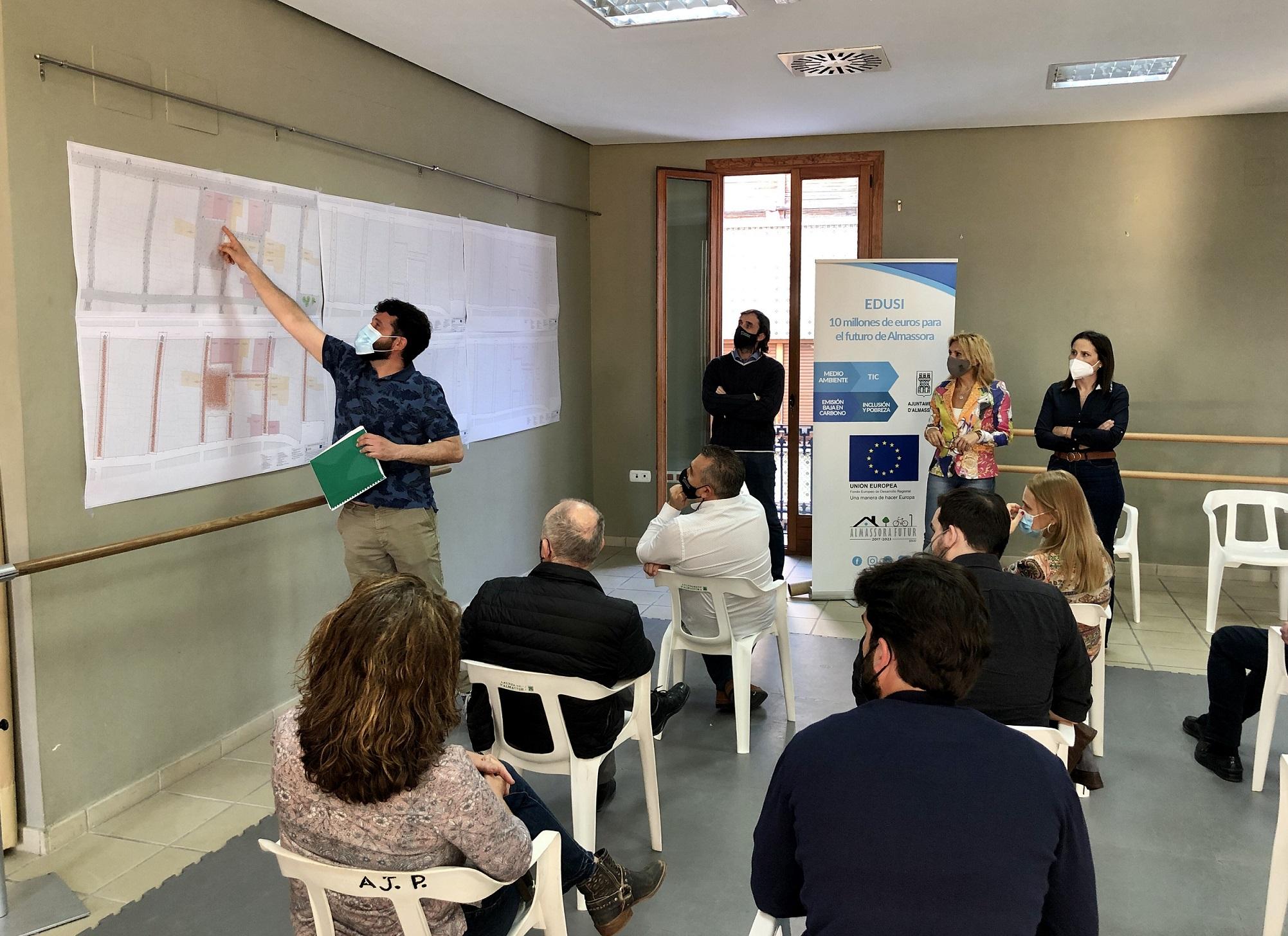 Almassora apostará por elementos móviles en la plaza Mayor para conjugar fiestas y BIC
