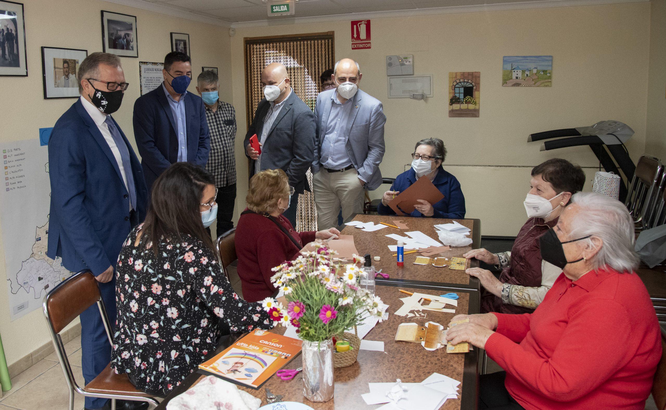 La Diputación de Castellón duplica los fondos directos a los municipios del Alto Mijares respecto a 2019 para frenar la despoblación