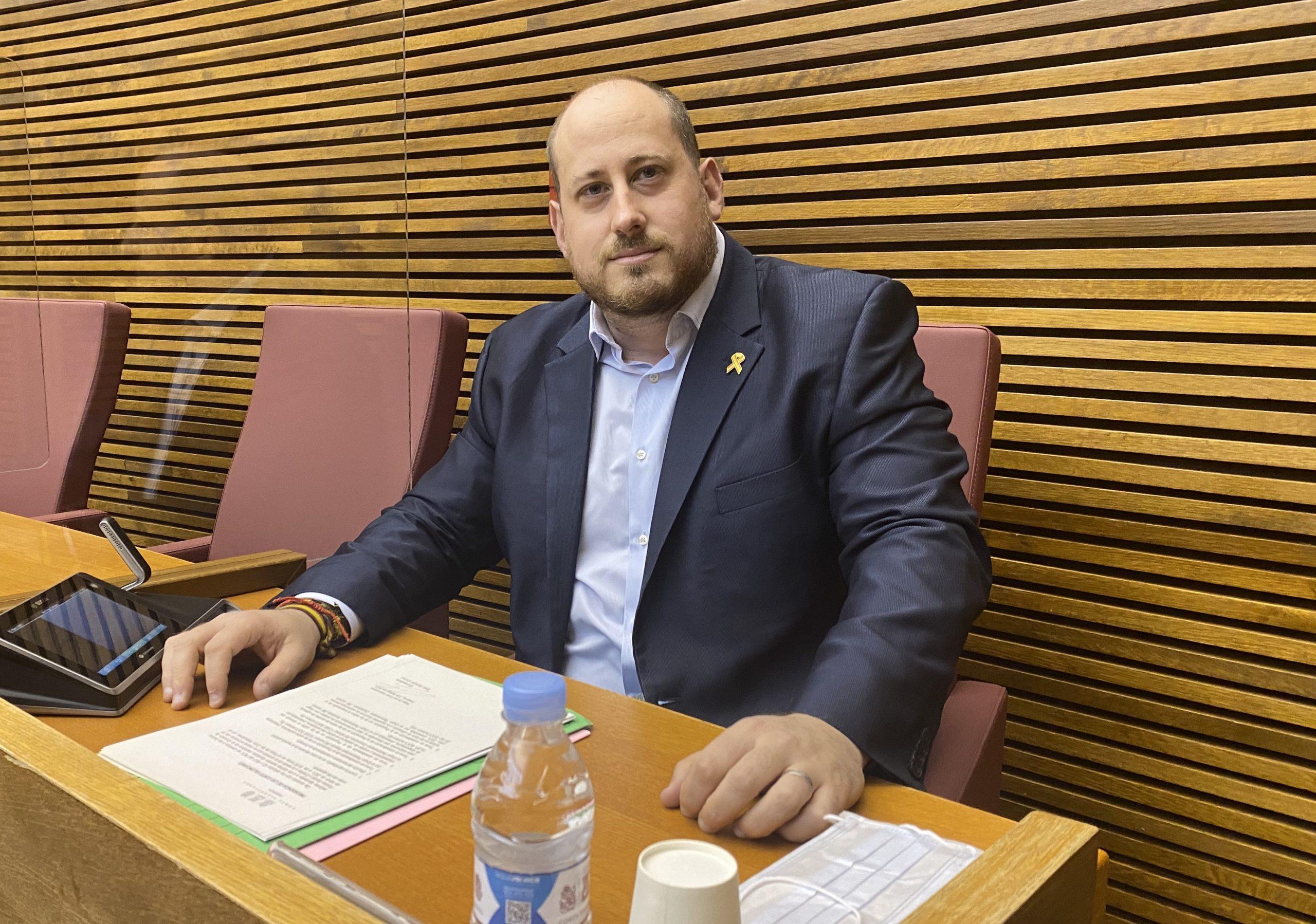 David García (VOX) denuncia que el Botánico gaste 32 millones en publicidad institucional