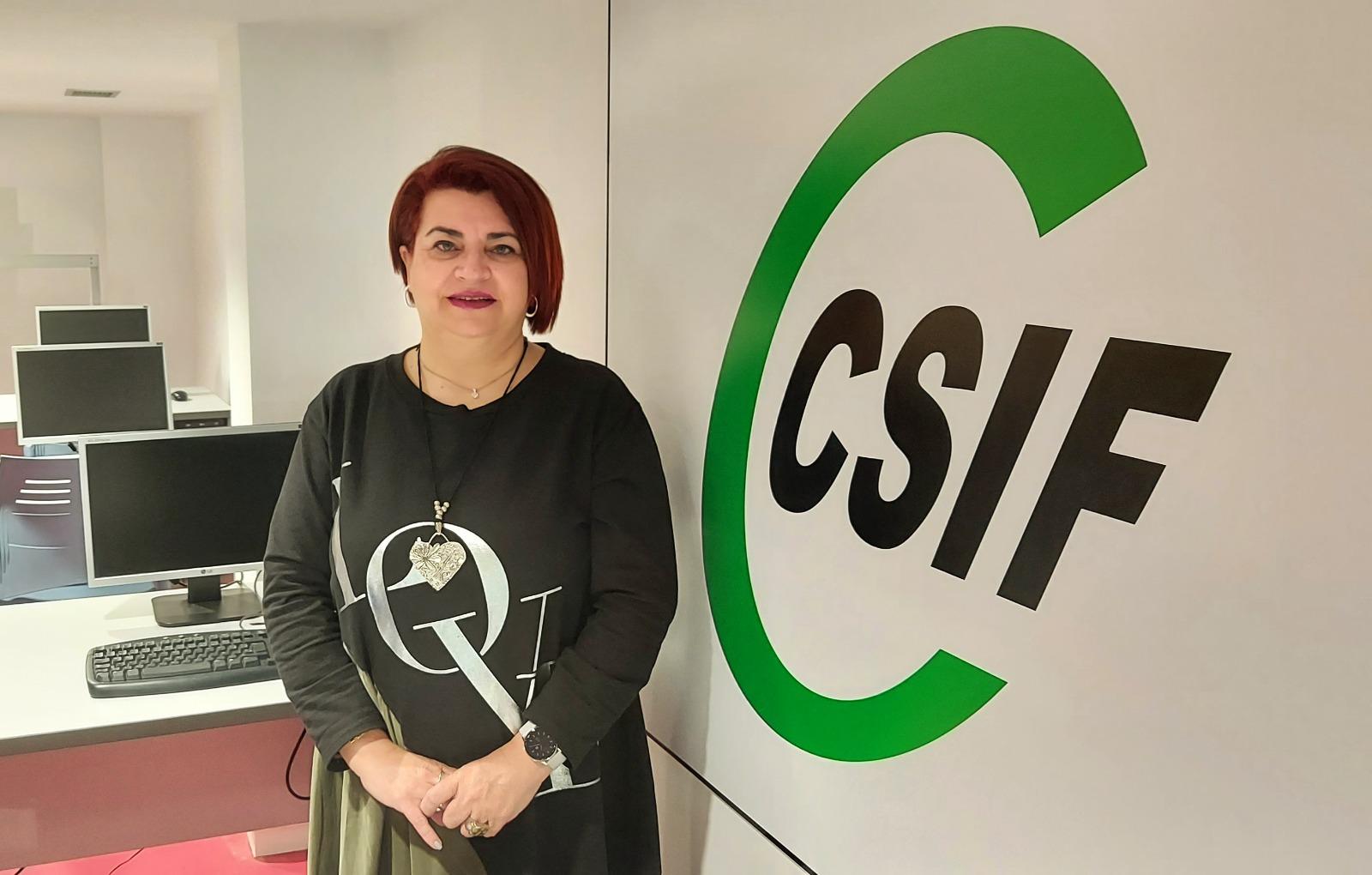 Entrevista a la Delegada de Educación del CSIF, Mª Jesús Sánchez