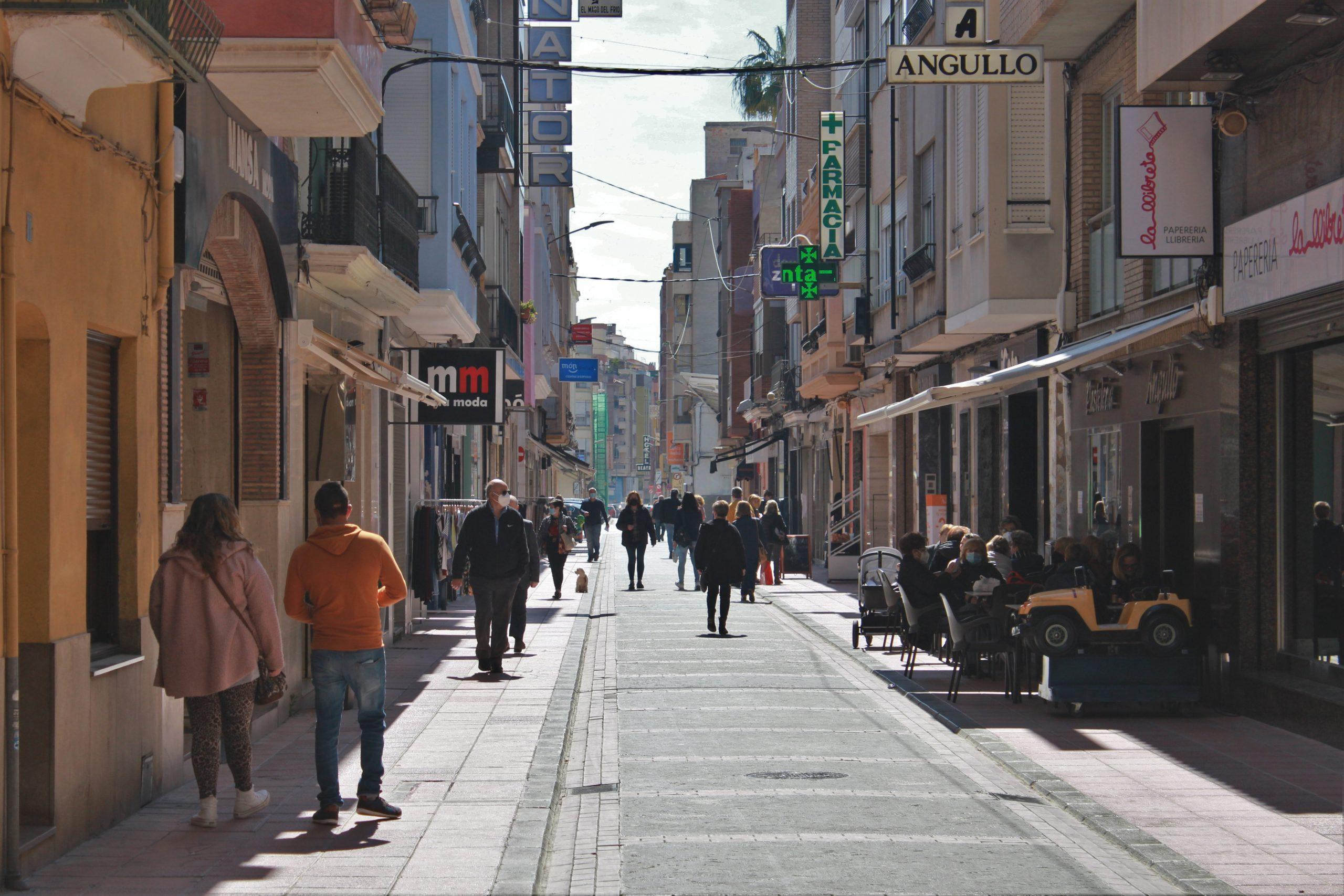 Burriana da un paso más para la puesta en marcha del programa 'Bono Comercio'