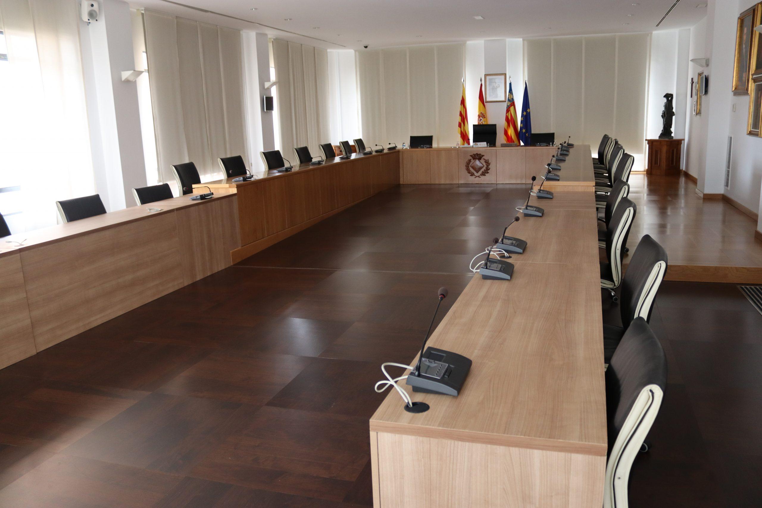 El Ayuntamiento de Vila-real retoma este mes los plenos presenciales con distancia de seguridad y limitación de aforo