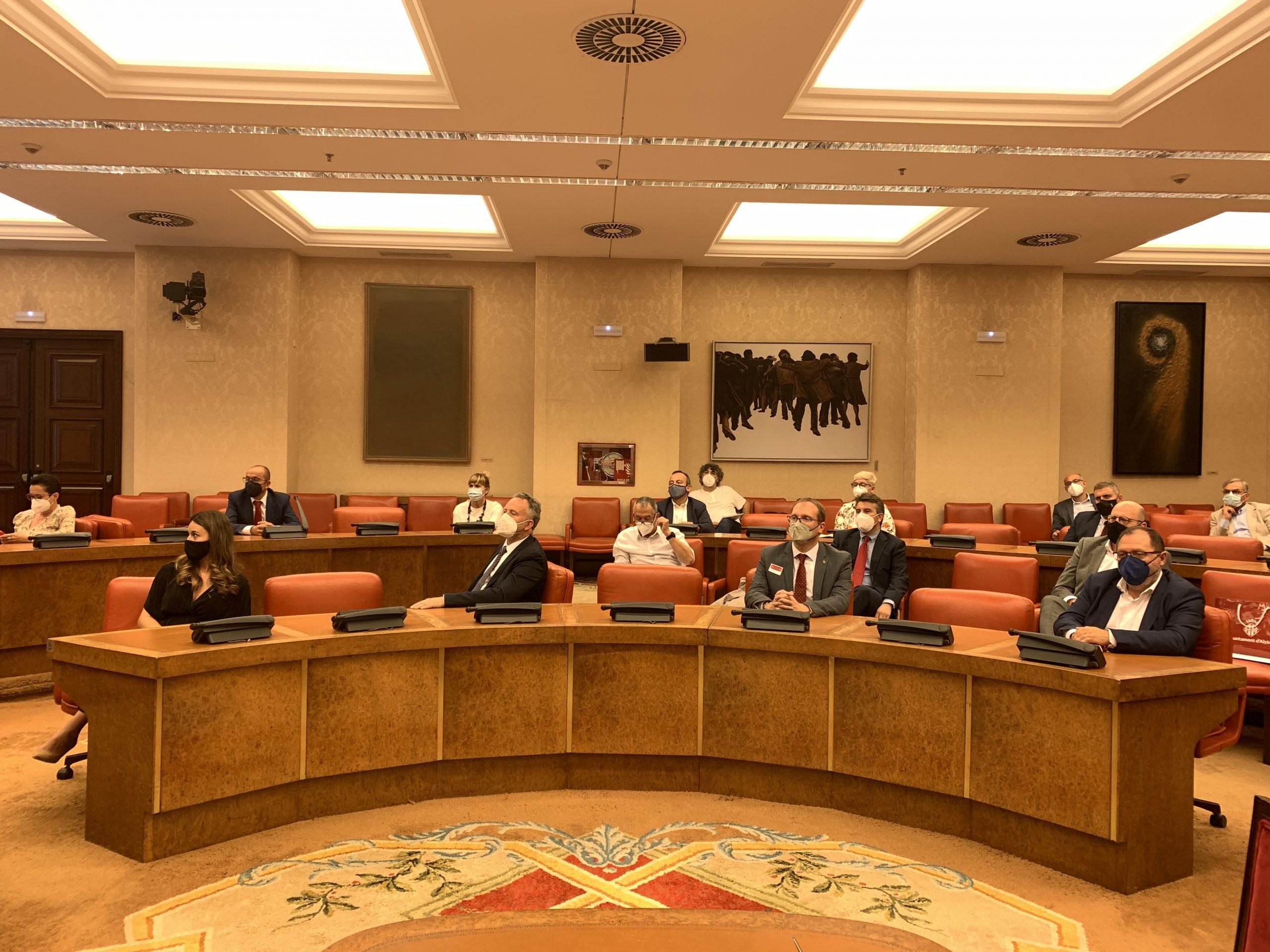"""Blanch (PSPV-PSOE) defiende en el Congreso que el derecho civil valenciano """"es el reconocimiento de la realidad plural del estado español"""""""