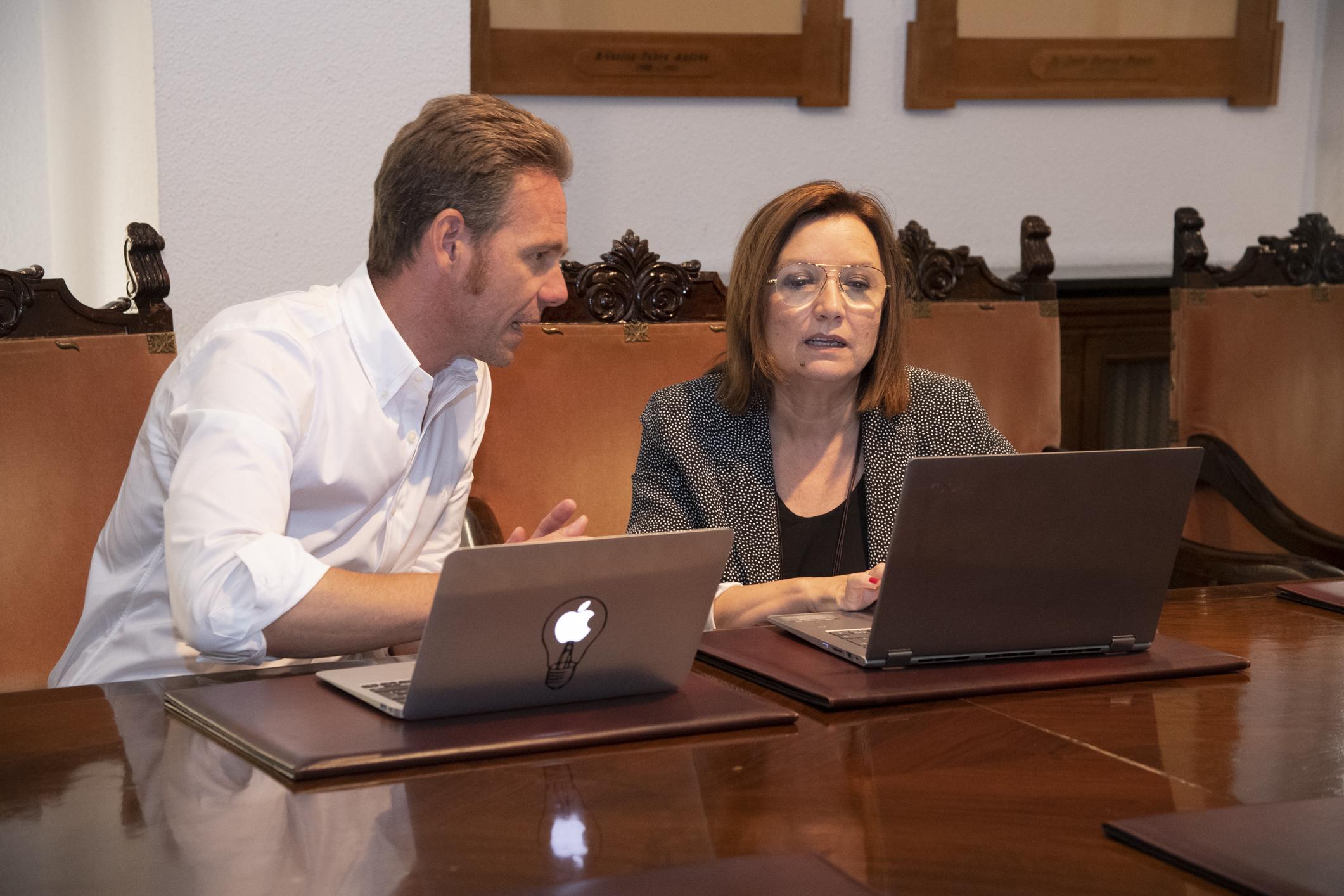 Entrevista a la diputada provincial de Transparencia y Participación, Xaro Miralles