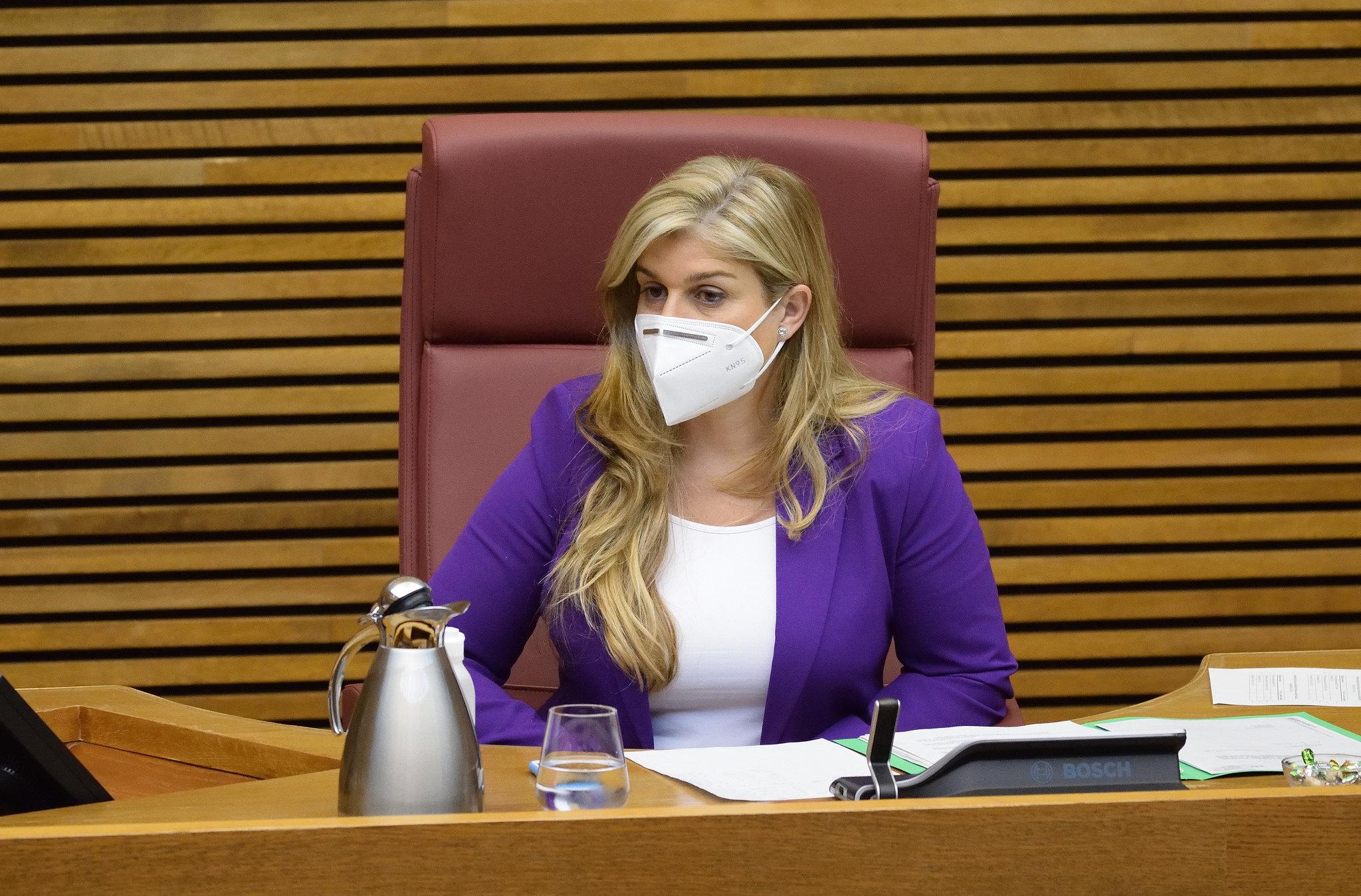 """Eva Ortiz: """"Los valencianos no soportamos más reuniones bilaterales ni más demoras, engaños ni excusas"""" con la financiación"""
