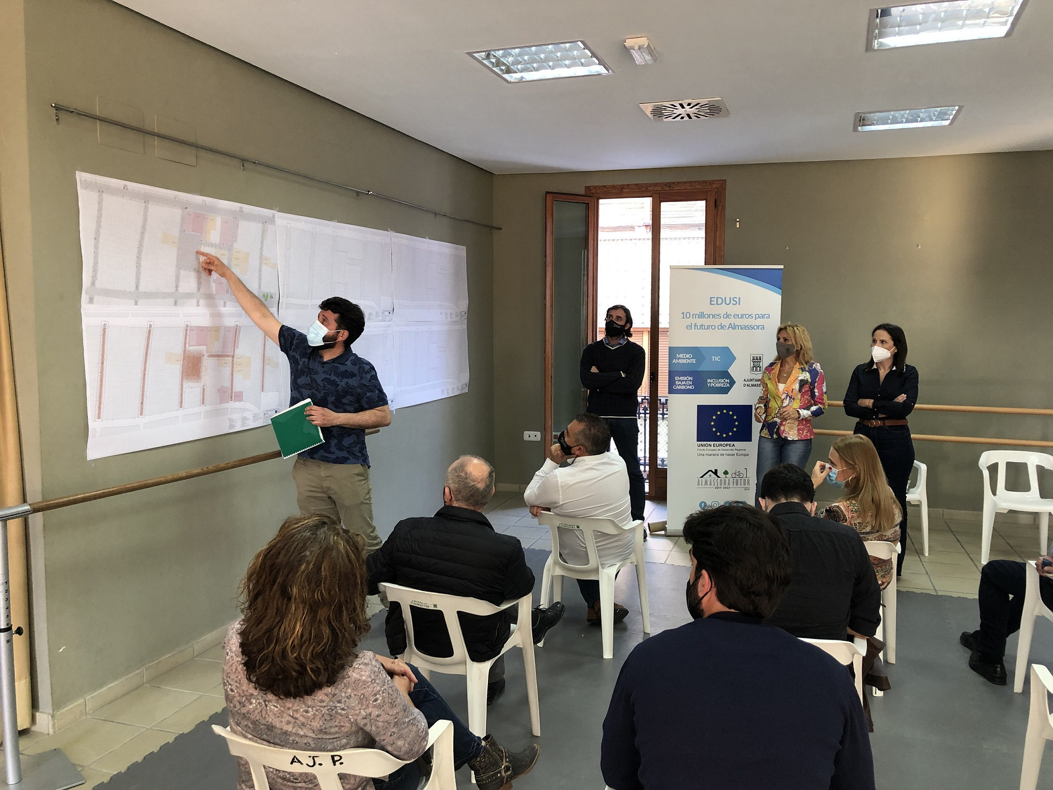 Tres empresas optan a reformar la plaza Mayor de la Vila de Almassora