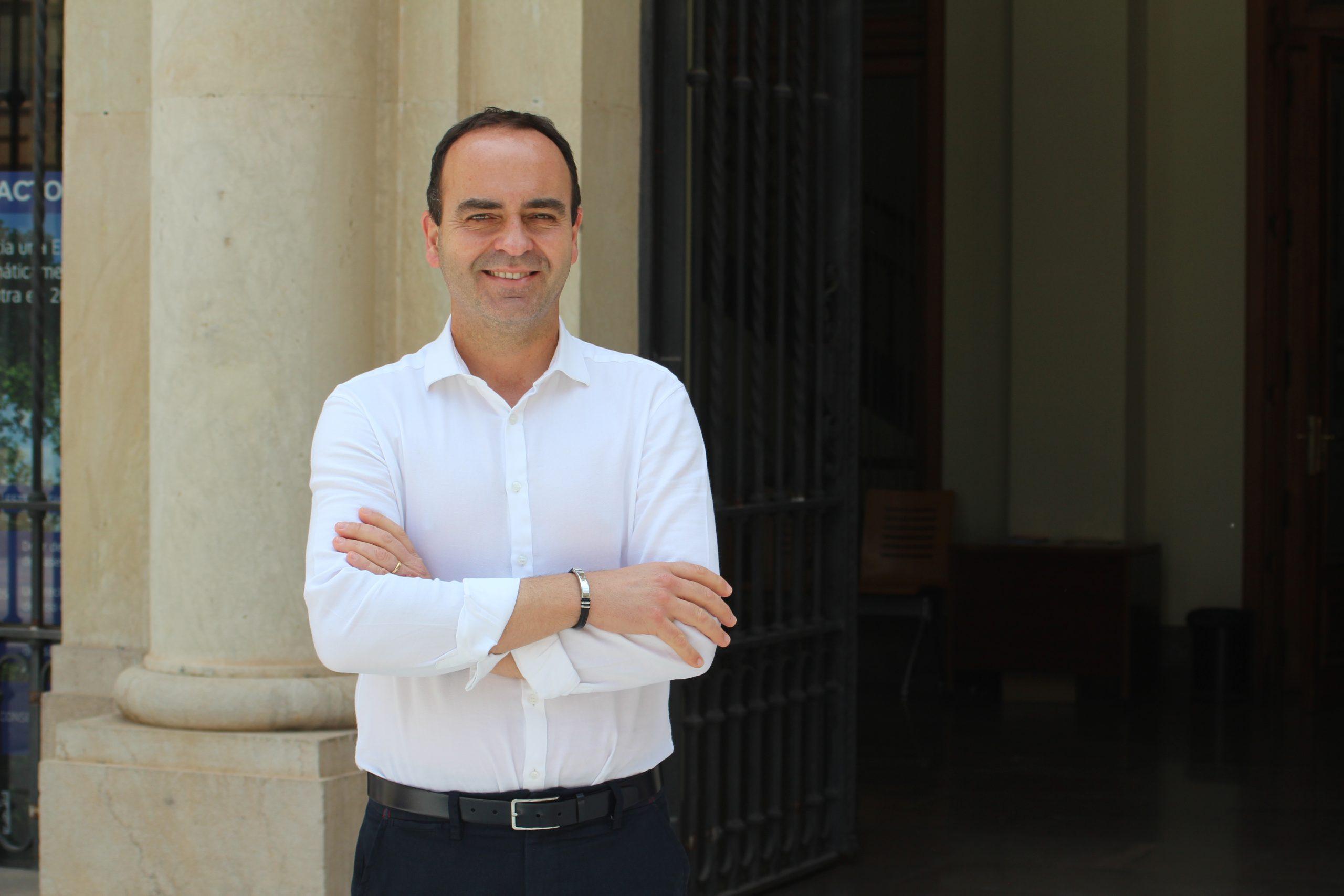 Entrevista al portavoz de Ciudadanos en Vila-real, Domingo Vicent