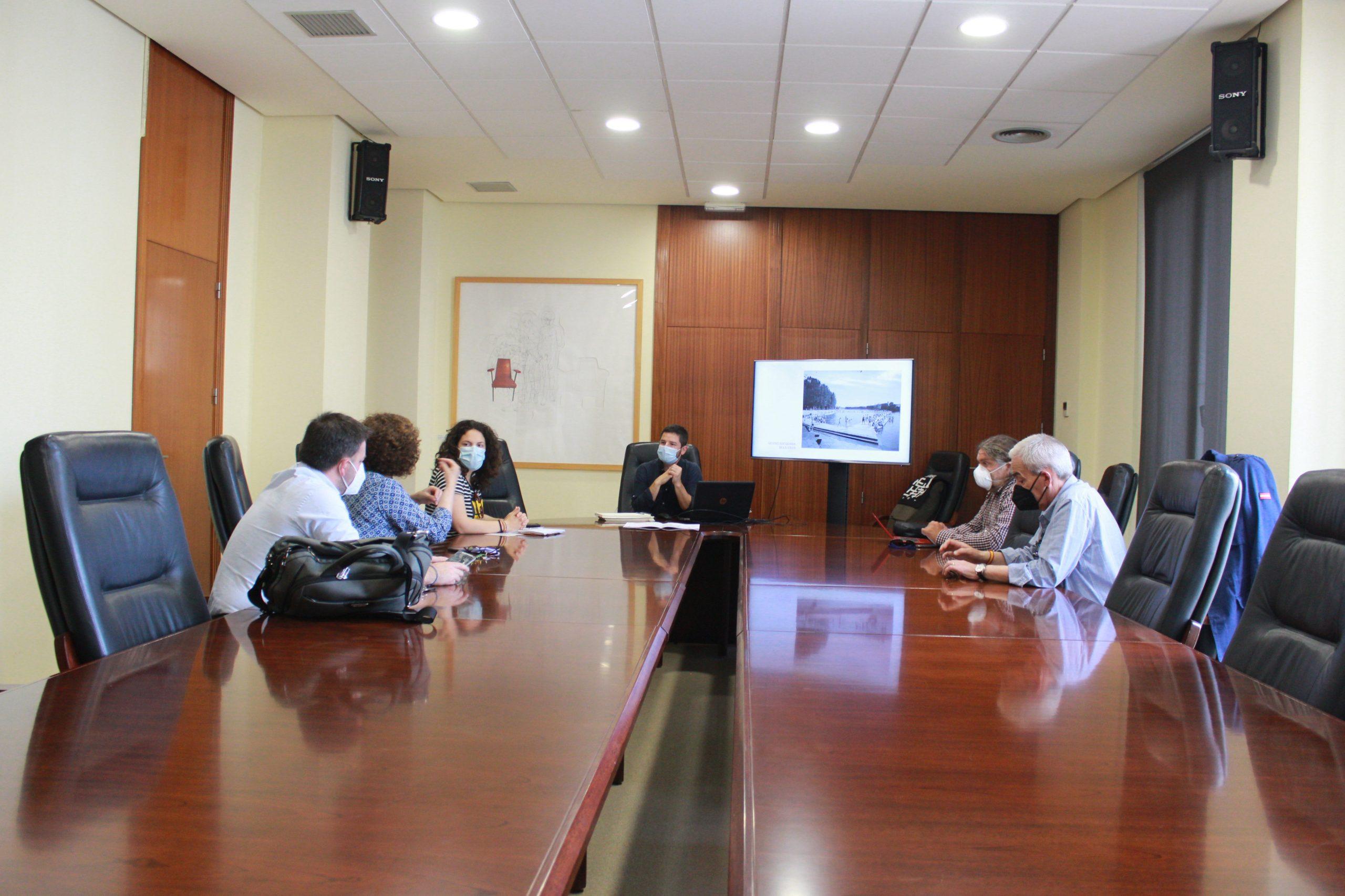 El Ayuntamiento abre a la ciudadanía el diseño del Parc de l'Arenal de Burriana