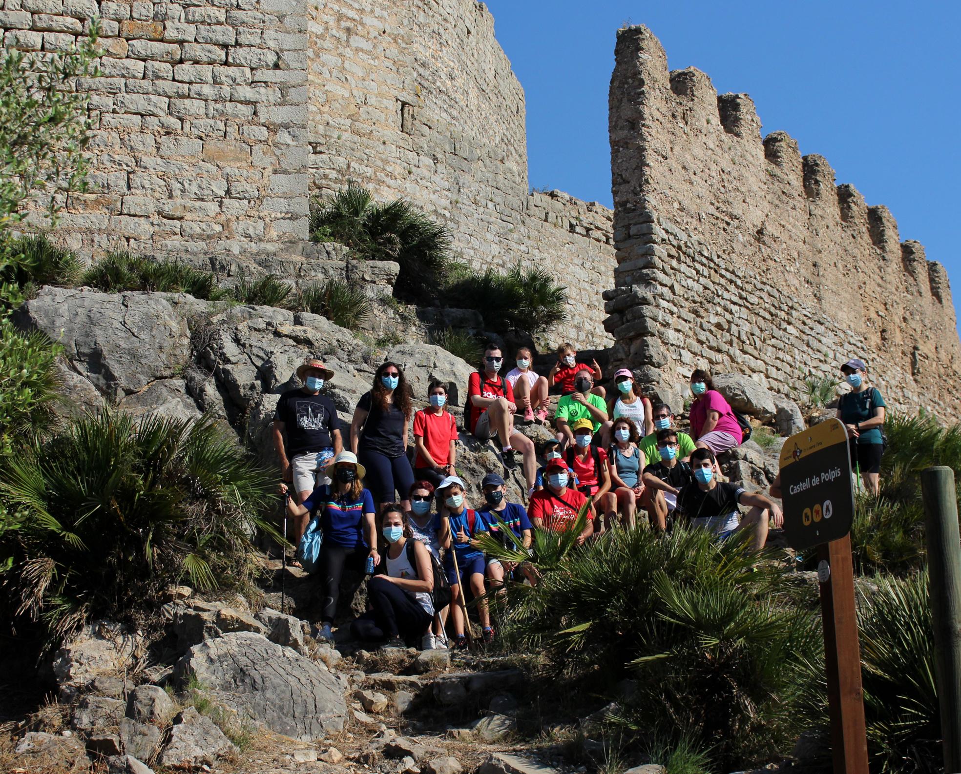 La Diputación de Castellón apuesta por dinamizar los castillos de Xivert i Polpís con representaciones teatrales que recrean la vida en las fortalezas