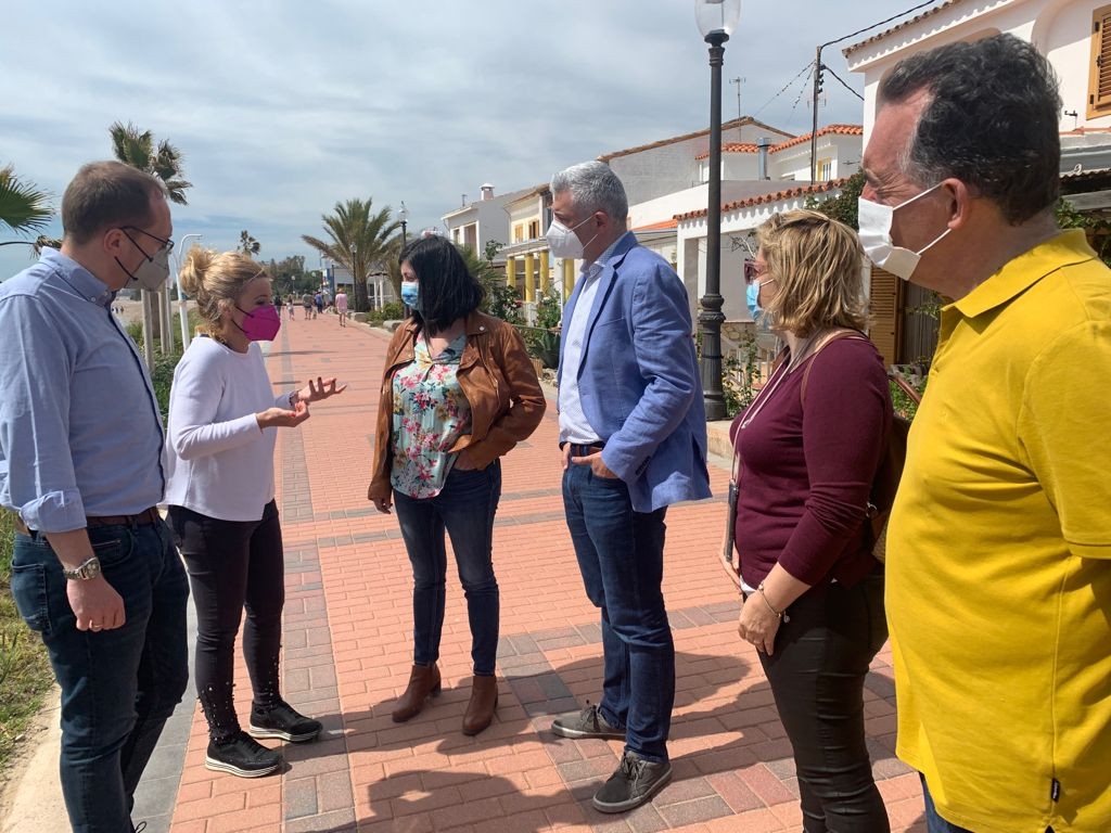 Edo (PSPV-PSOE) destaca el trabajo de la alcaldesa de Cabanes al conseguir la unanimidad de los grupos y los vecinos de Torre la Sal para aprobar las alegaciones para Costas