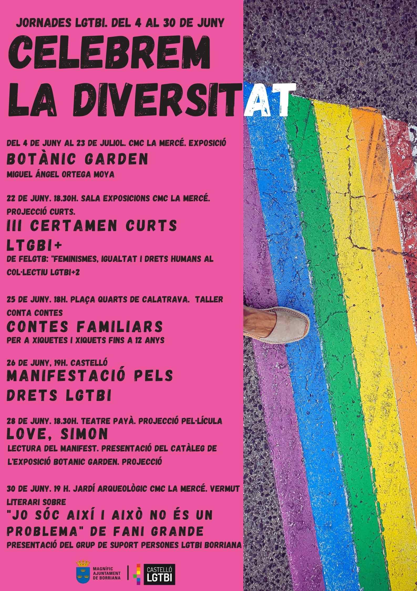 La exposición Botànic Garden de Miguel Ángel Ortega Moya abre las Jornadas del Orgullo LGTBI en Burriana